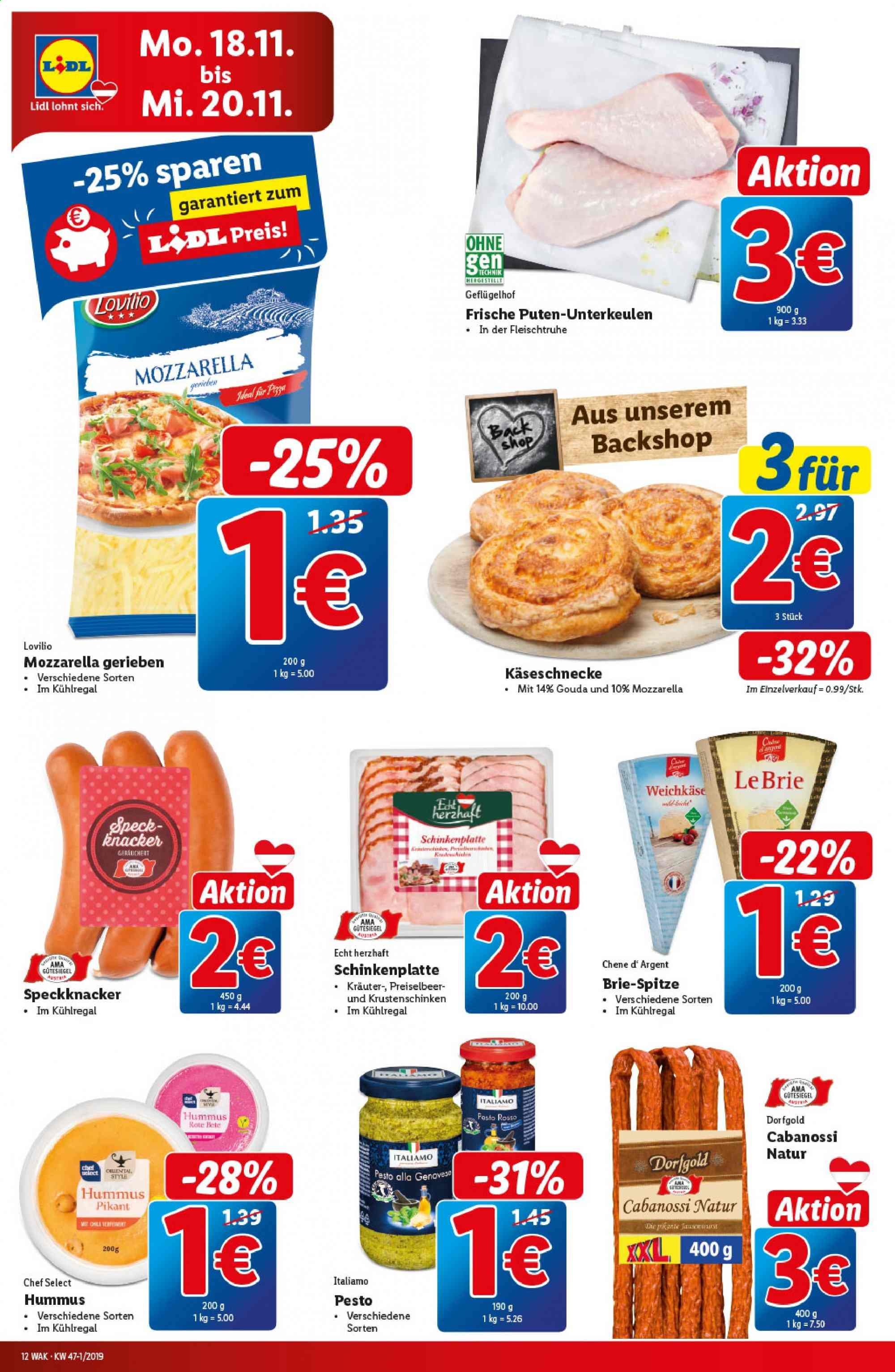 Angebote Lidl - 14.11.2019 - 20.11.2019. Seite 12.