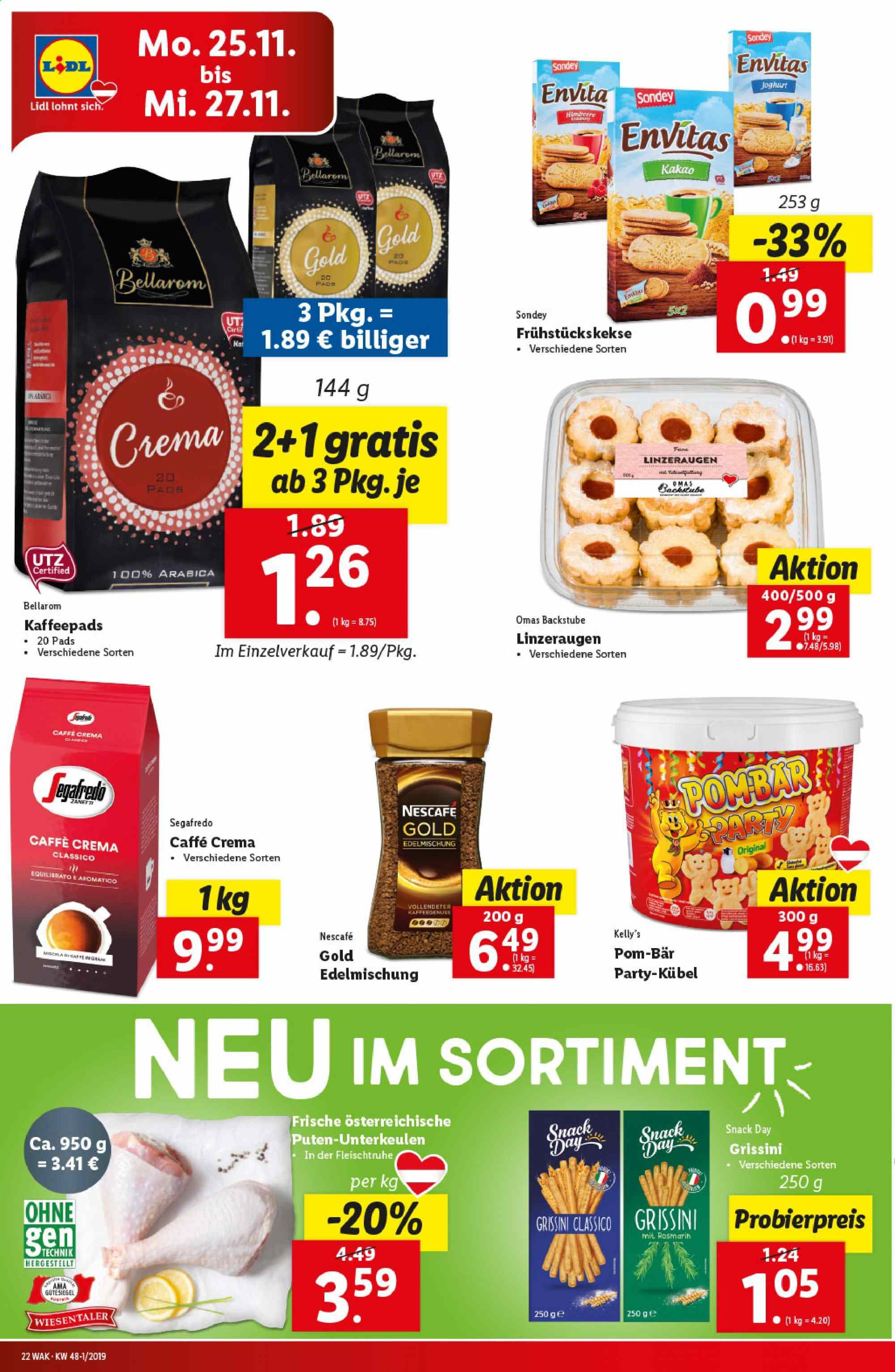 Angebote Lidl - 21.11.2019 - 27.11.2019. Seite 22.