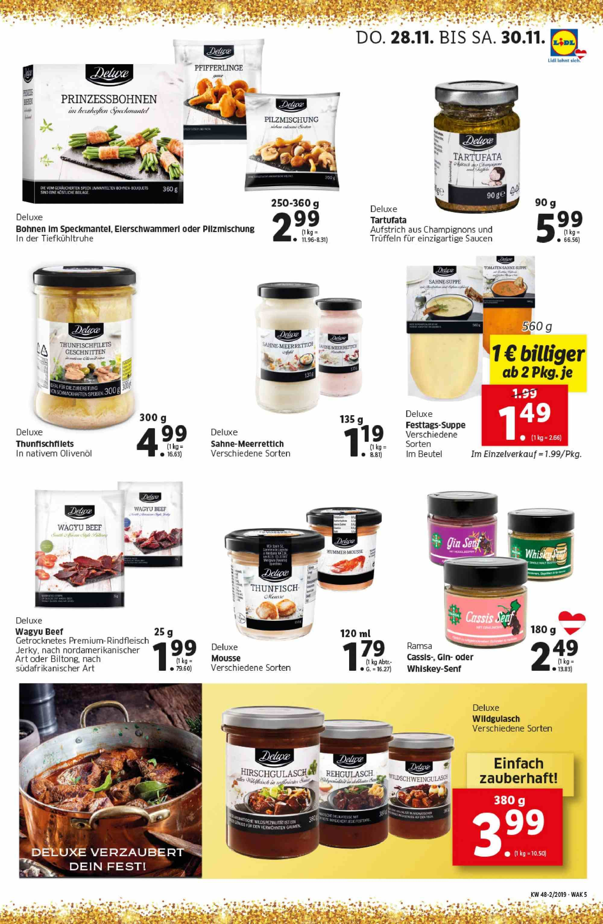 Angebote Lidl - 28.11.2019 - 4.12.2019. Seite 5.