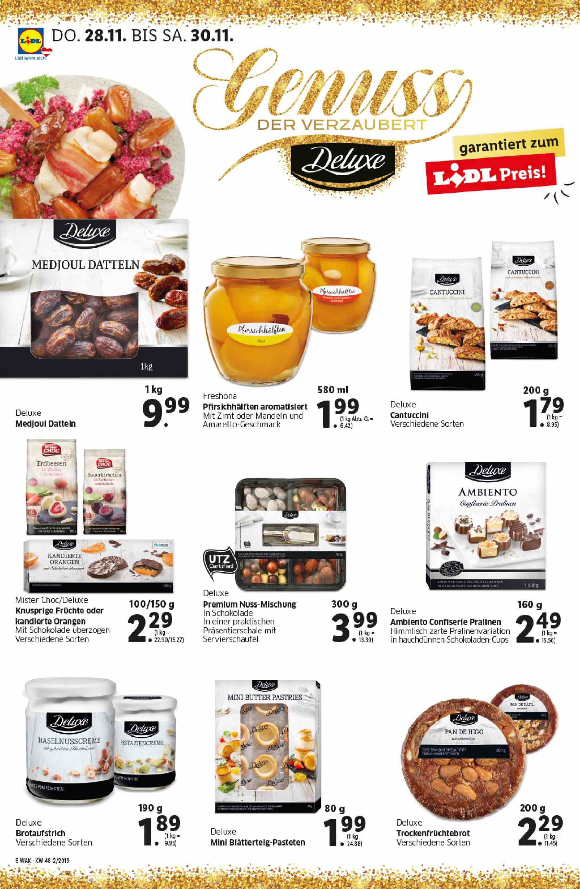 Angebote Lidl - 28.11.2019 - 4.12.2019. Seite 8.