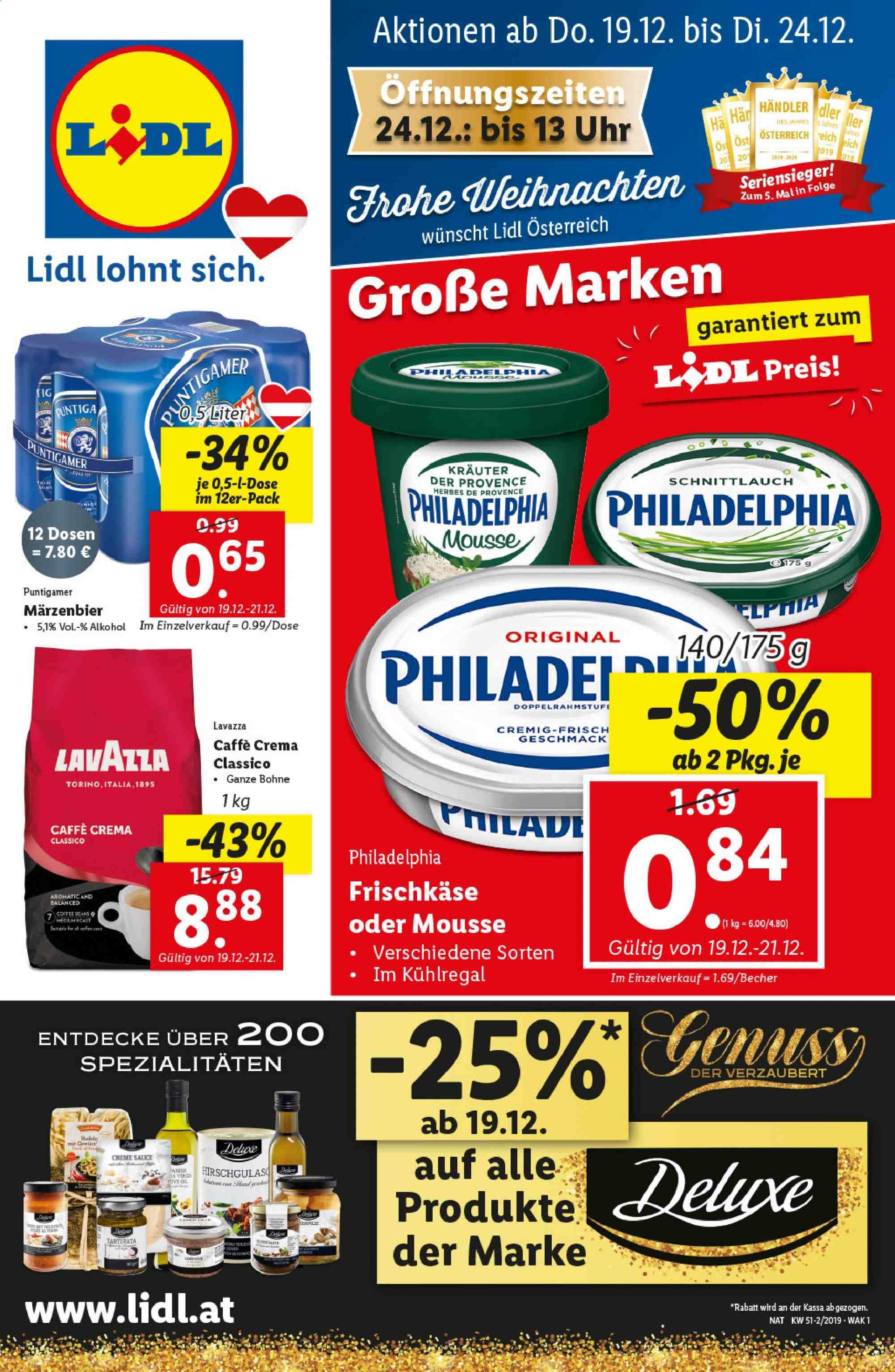 Angebote Lidl - 19.12.2019 - 24.12.2019. Seite 1.
