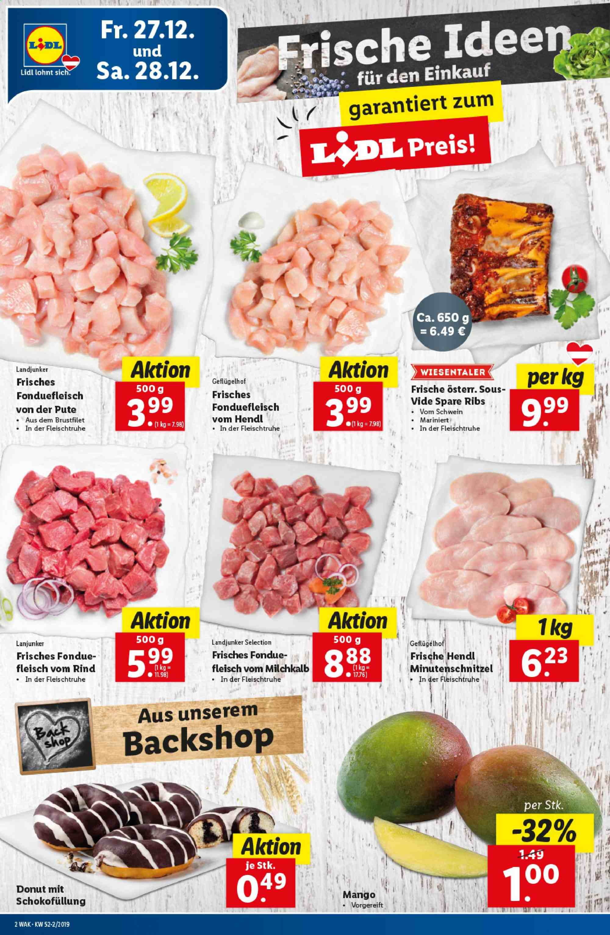 Angebote Lidl - 27.12.2019 - 31.12.2019. Seite 2.