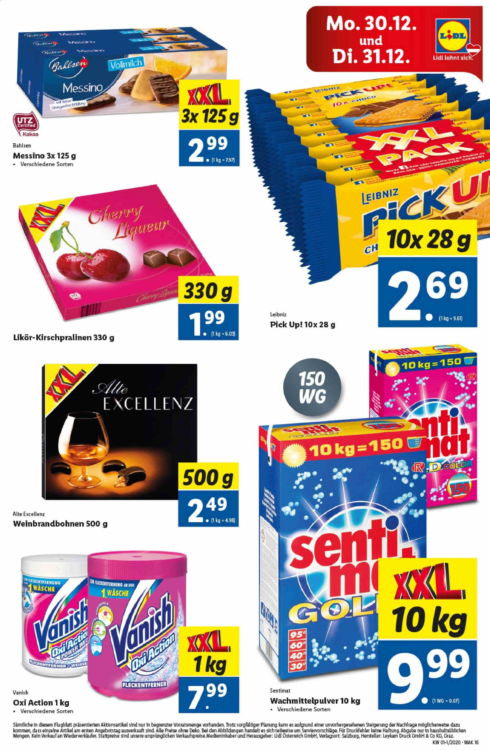 Angebote Lidl - 27.12.2019 - 31.12.2019. Seite 16.