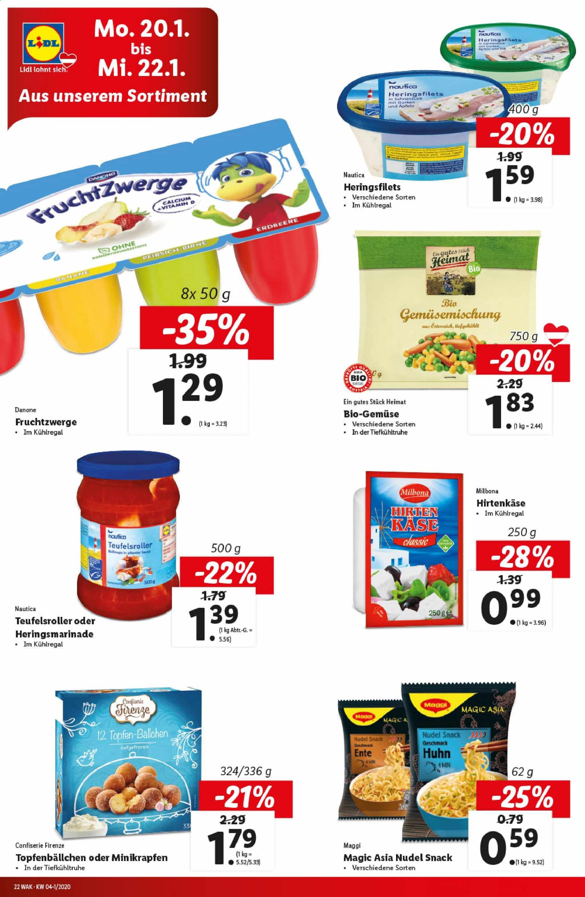 Angebote Lidl - 16.1.2020 - 22.1.2020. Seite 22.