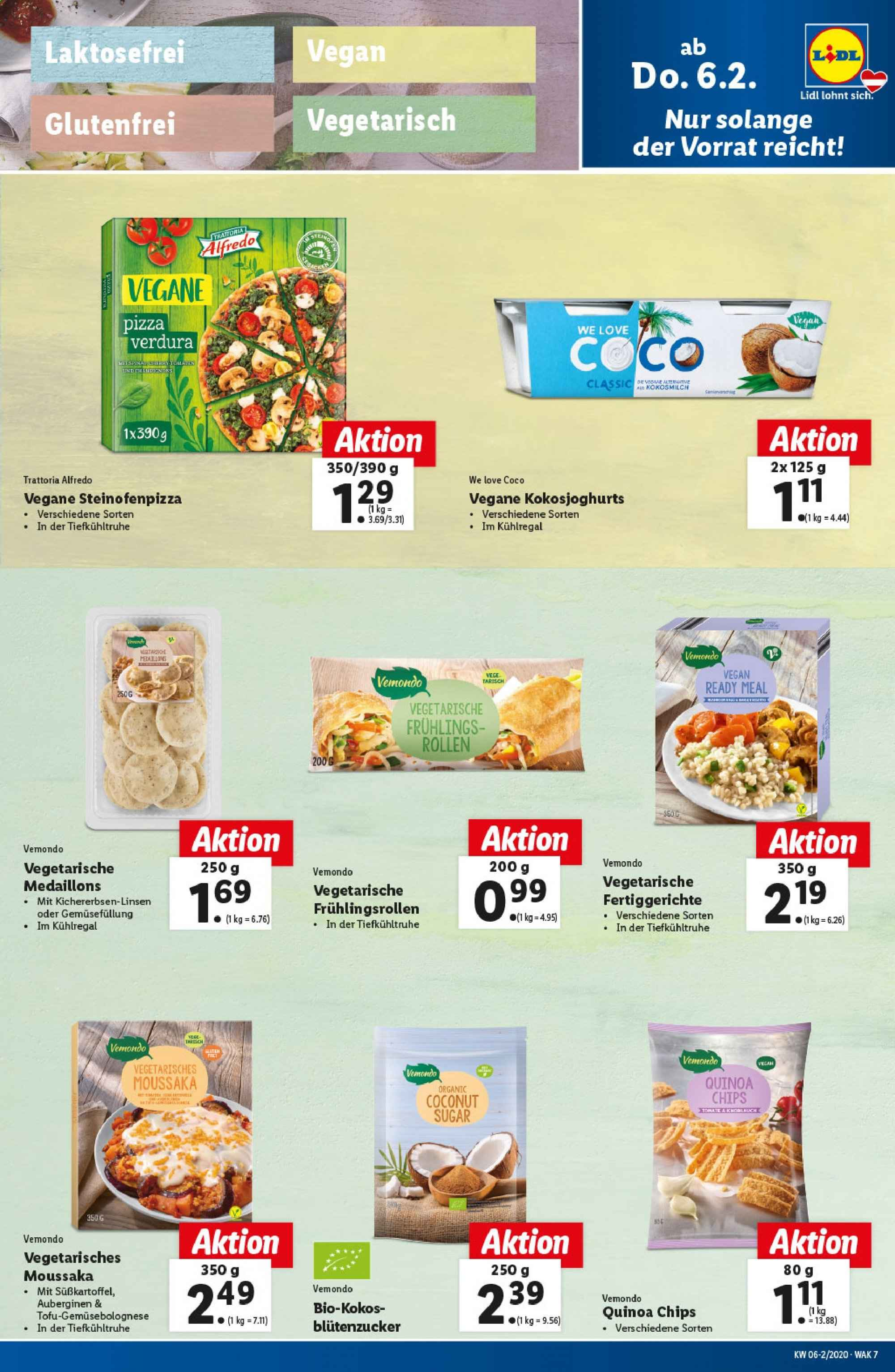 Angebote Lidl - 6.2.2020 - 12.2.2020. Seite 7.