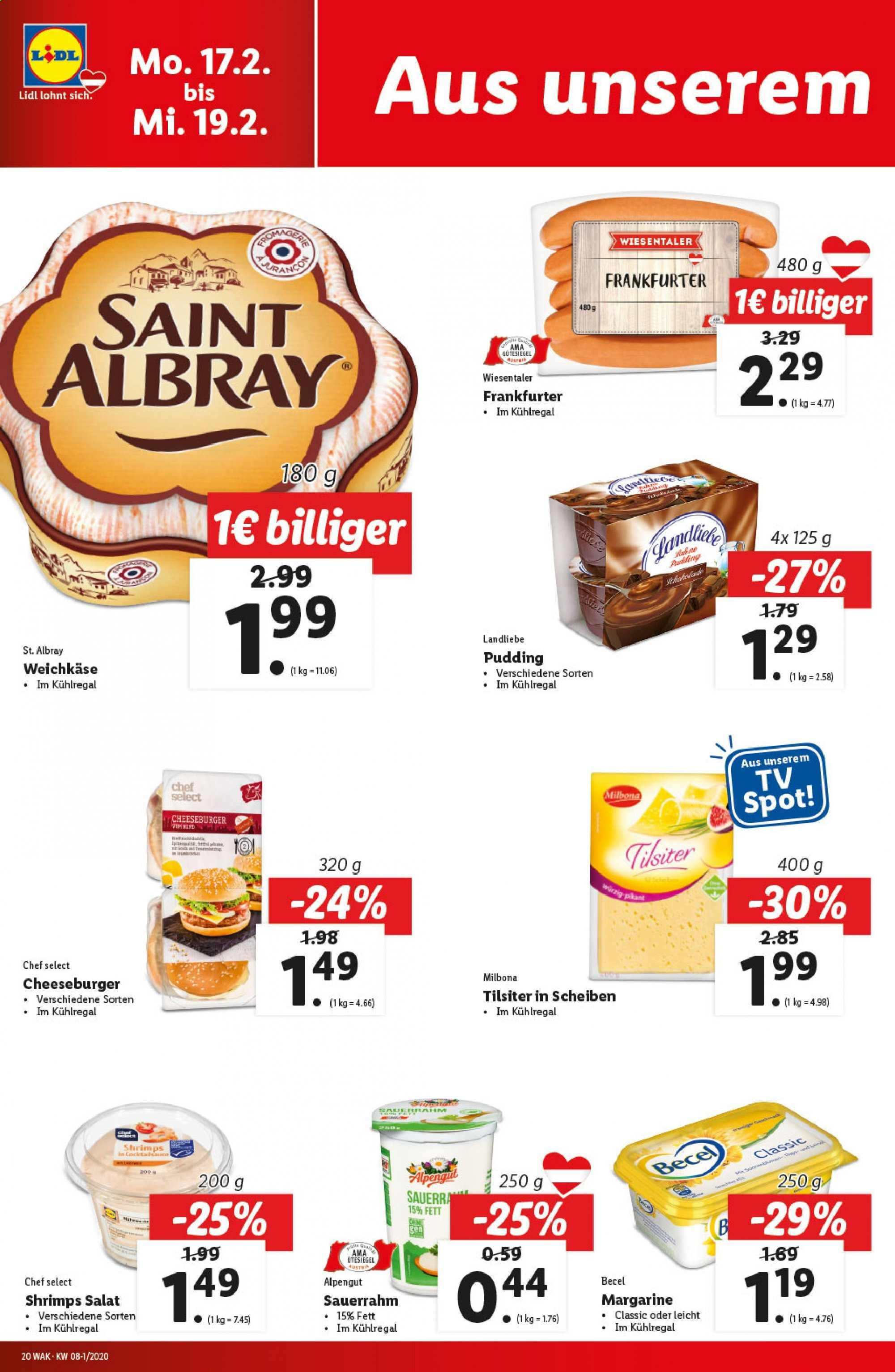 Angebote Lidl - 13.2.2020 - 19.2.2020. Seite 20.