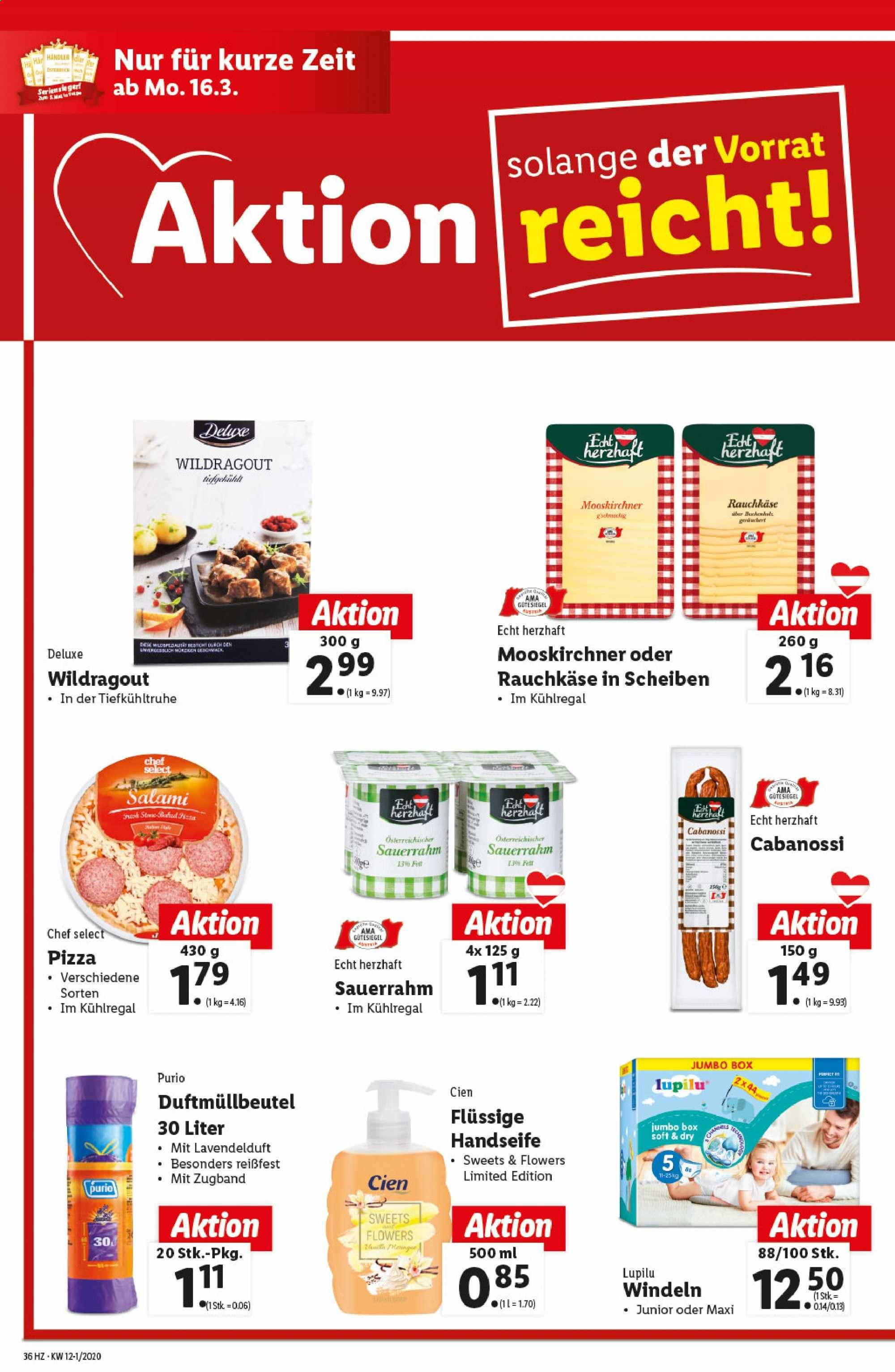 Angebote Lidl - 12.3.2020 - 18.3.2020. Seite 36.
