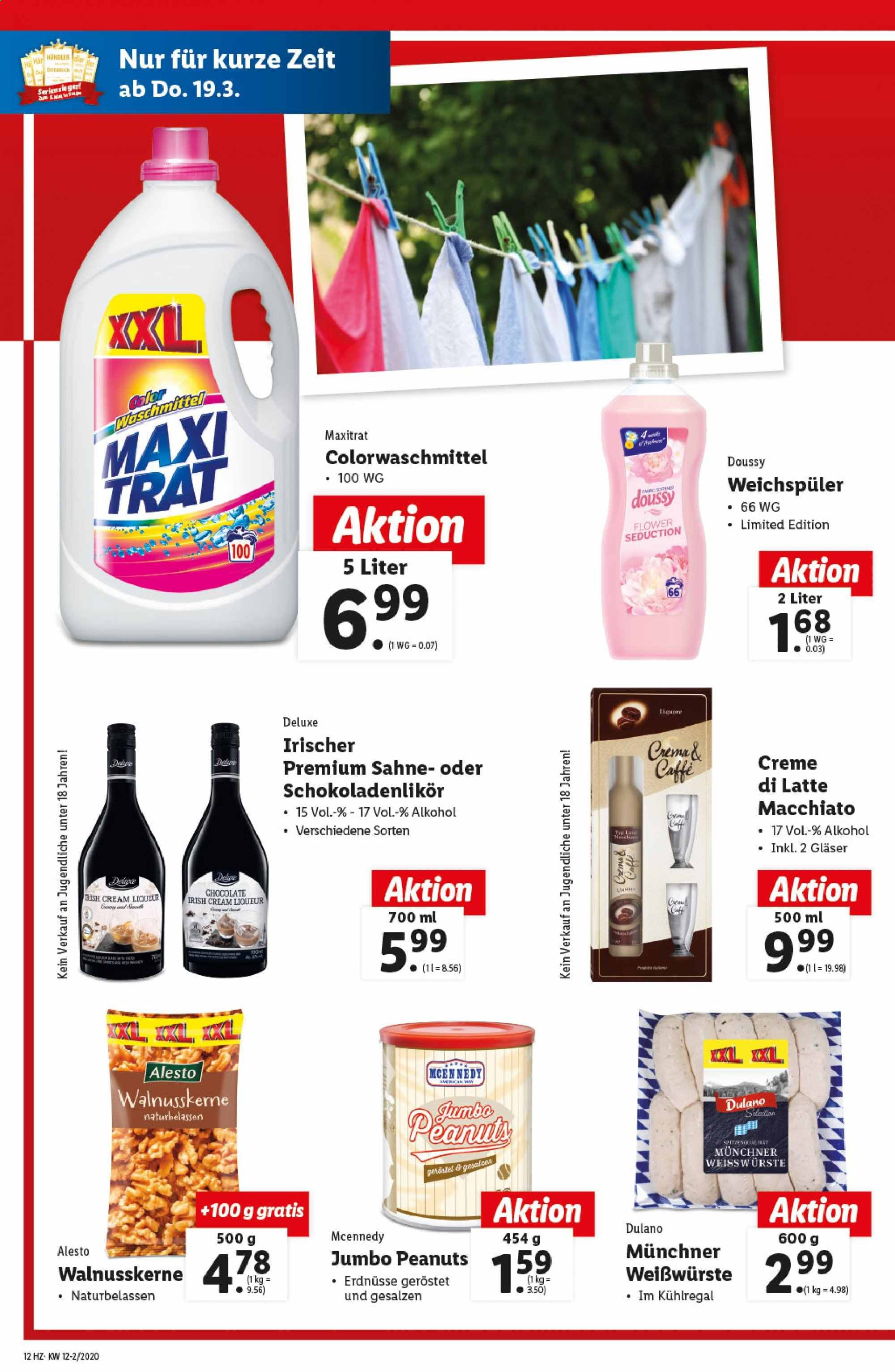 Angebote Lidl - 19.3.2020 - 25.3.2020. Seite 12.