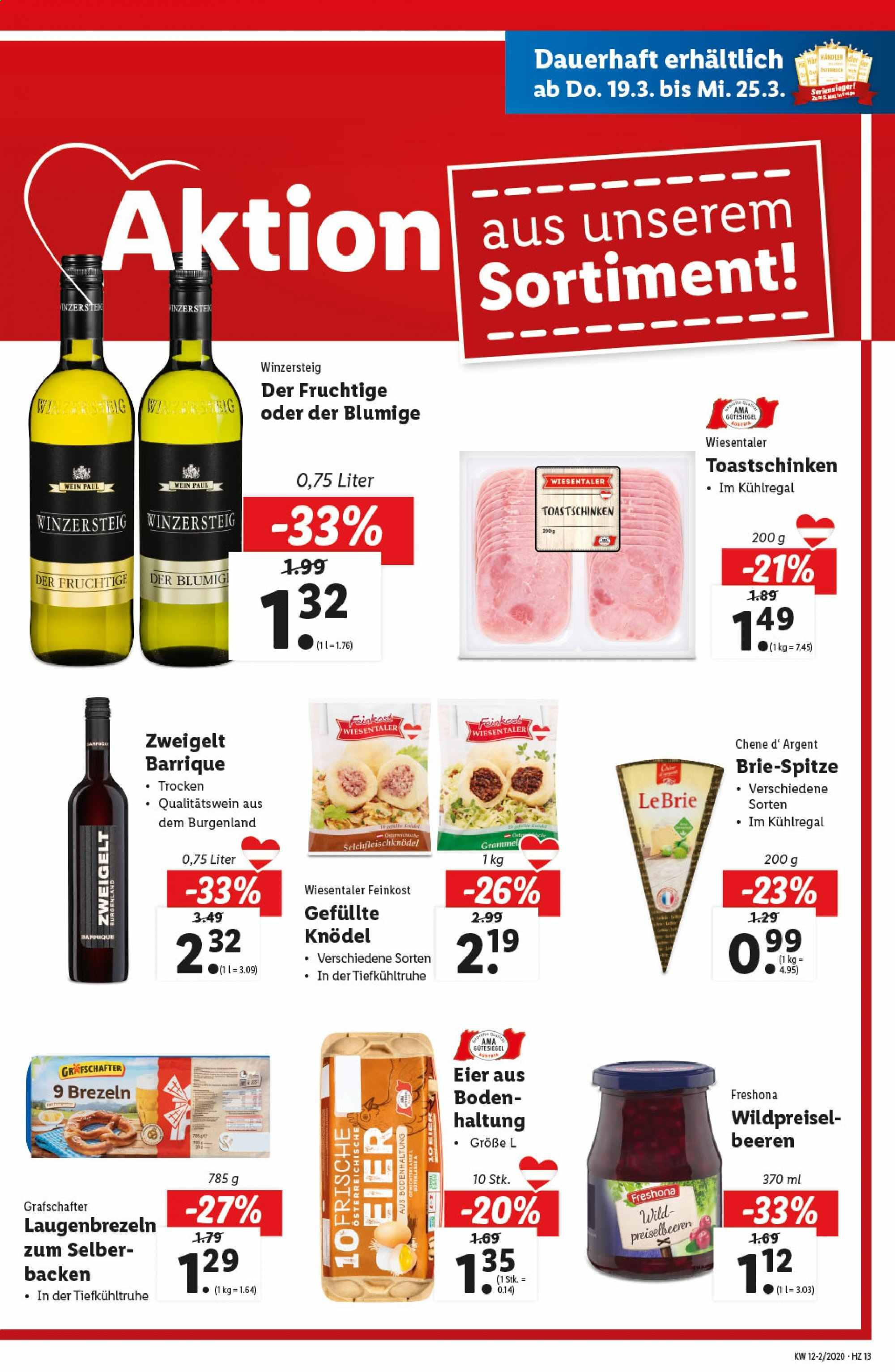 Angebote Lidl - 19.3.2020 - 25.3.2020. Seite 13.