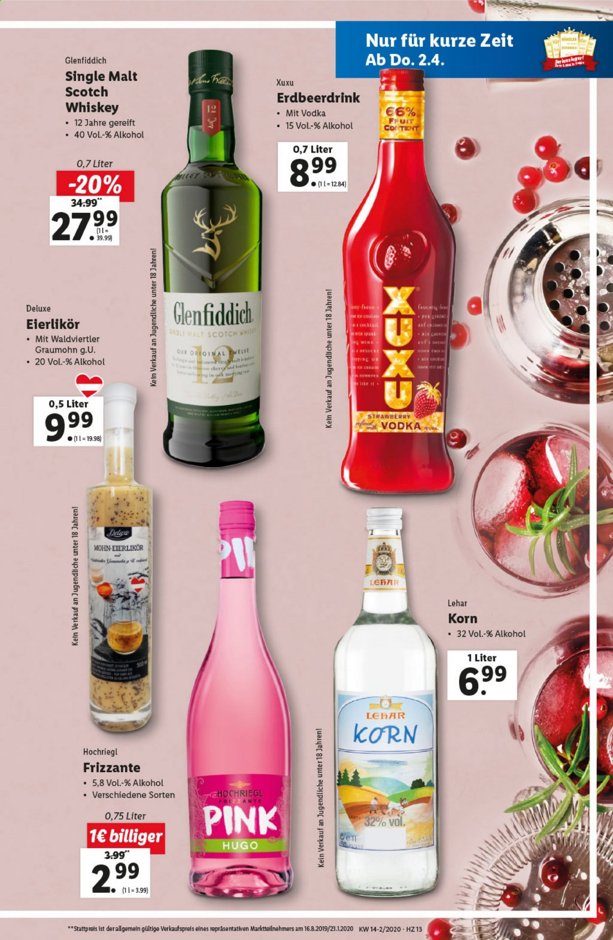 Angebote Lidl - 2.4.2020 - 8.4.2020. Seite 13.