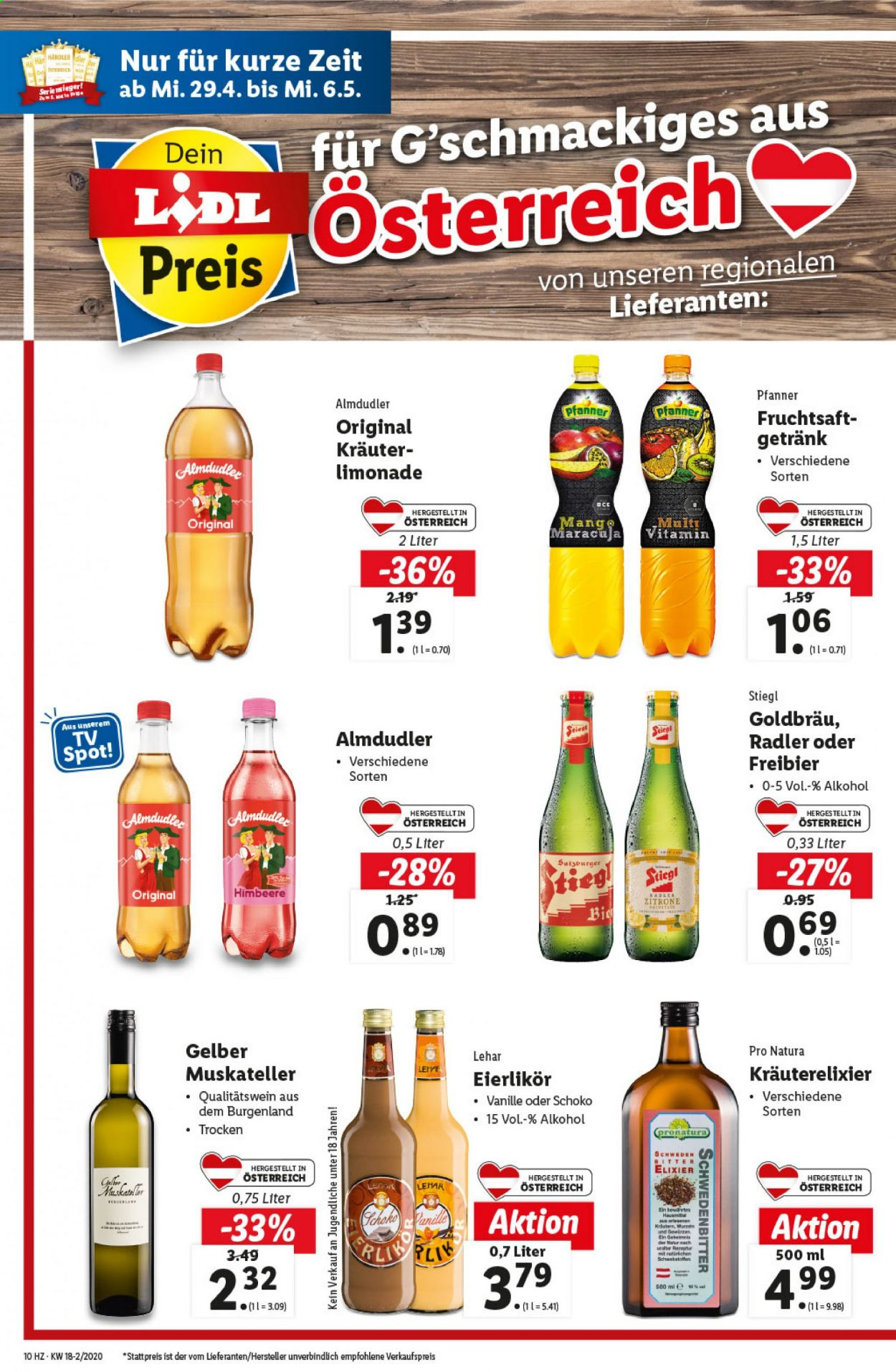 Angebote Lidl - 29.4.2020 - 6.5.2020. Seite 10.