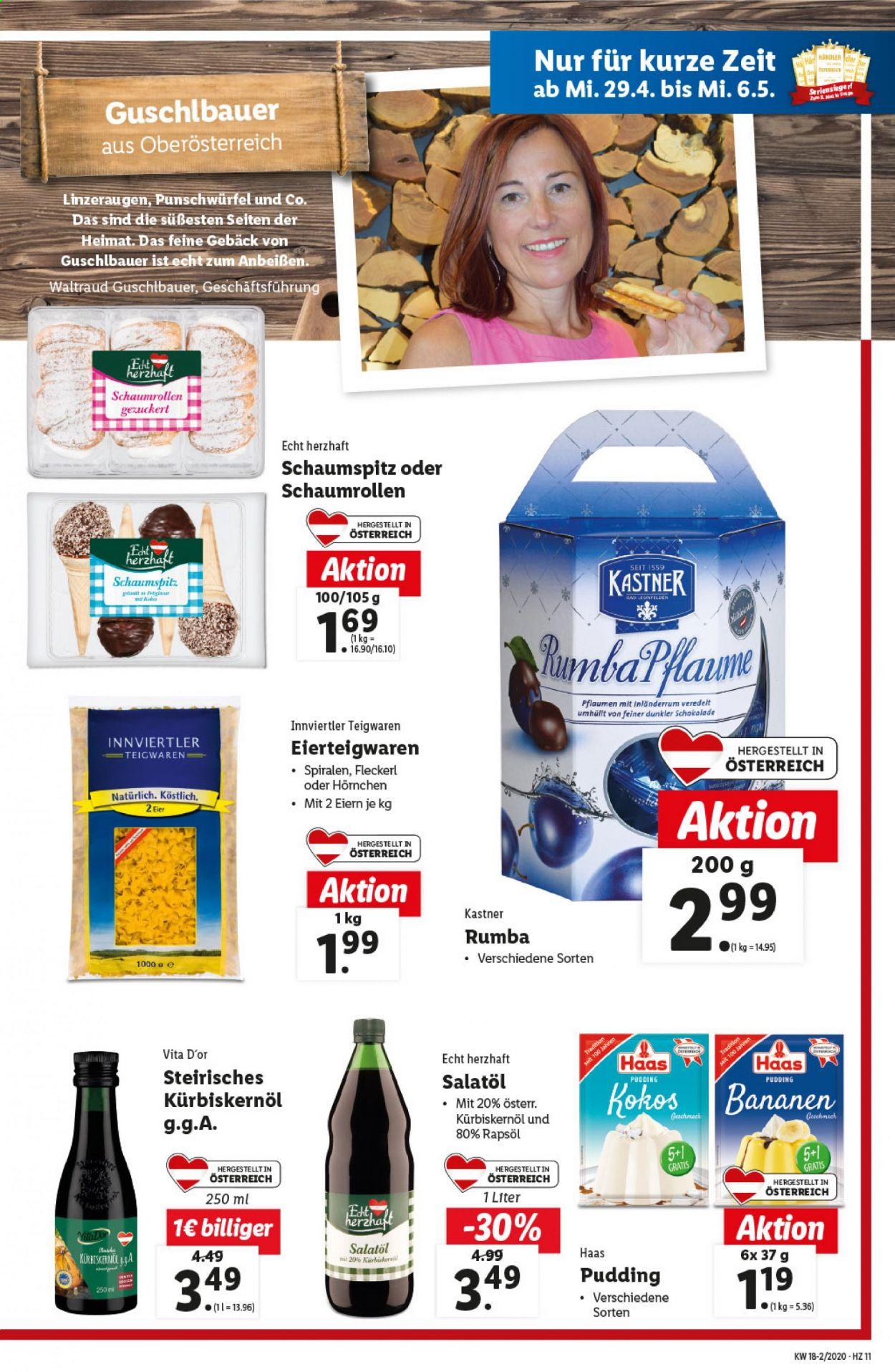 Angebote Lidl - 29.4.2020 - 6.5.2020. Seite 11.