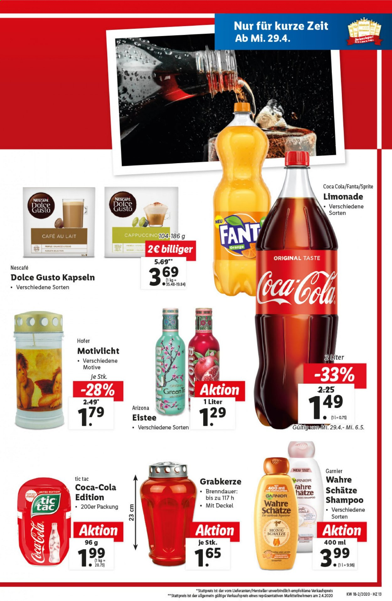 Angebote Lidl - 29.4.2020 - 6.5.2020. Seite 13.