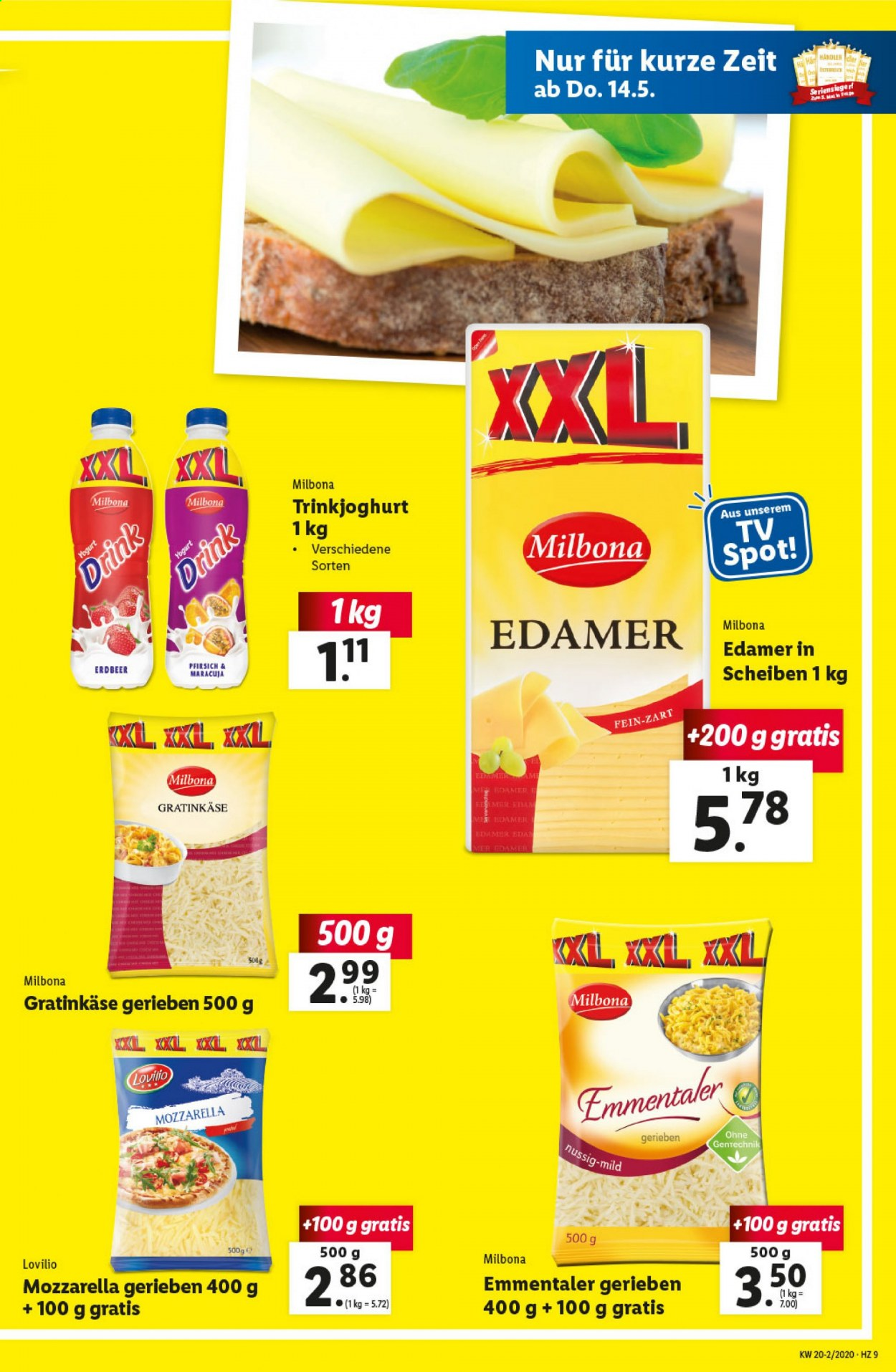 Angebote Lidl - 14.5.2020 - 20.5.2020. Seite 9.