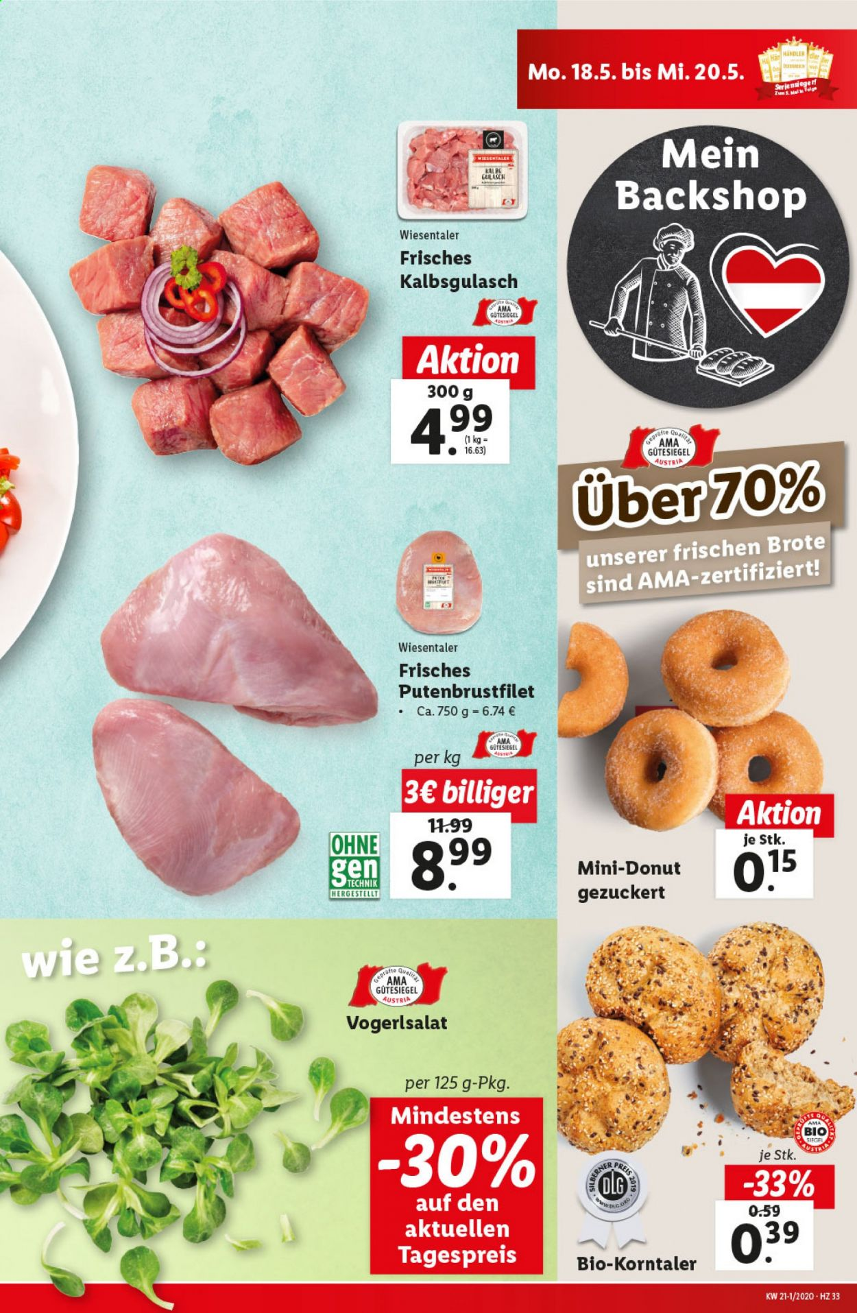 Angebote Lidl - 14.5.2020 - 20.5.2020. Seite 33.