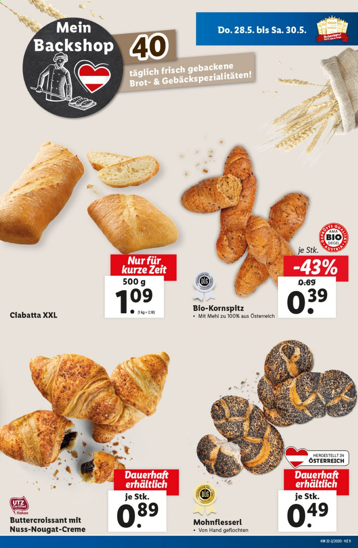 Angebote Lidl - 28.5.2020 - 3.6.2020. Seite 9.