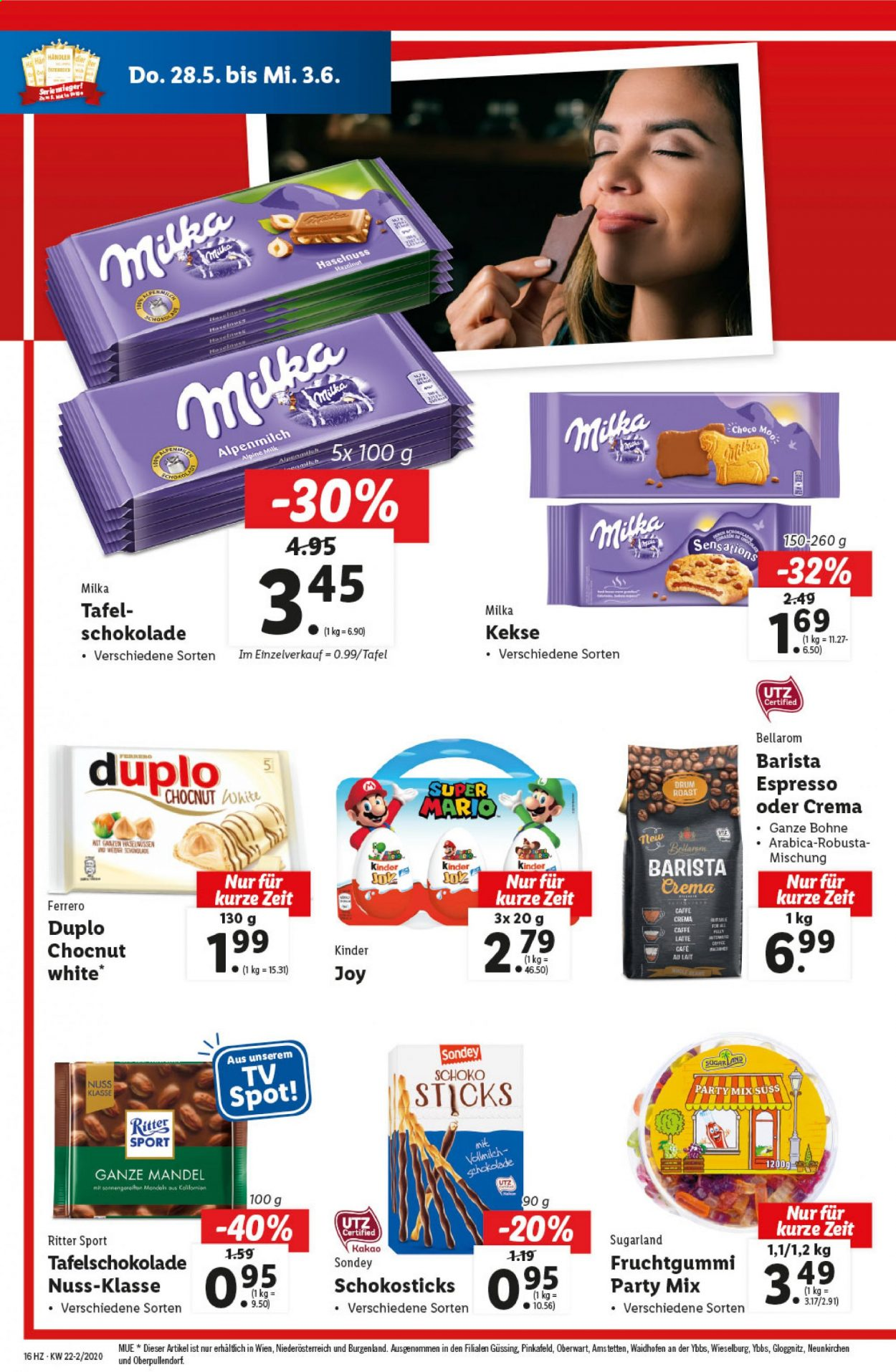 Angebote Lidl - 28.5.2020 - 3.6.2020. Seite 16.