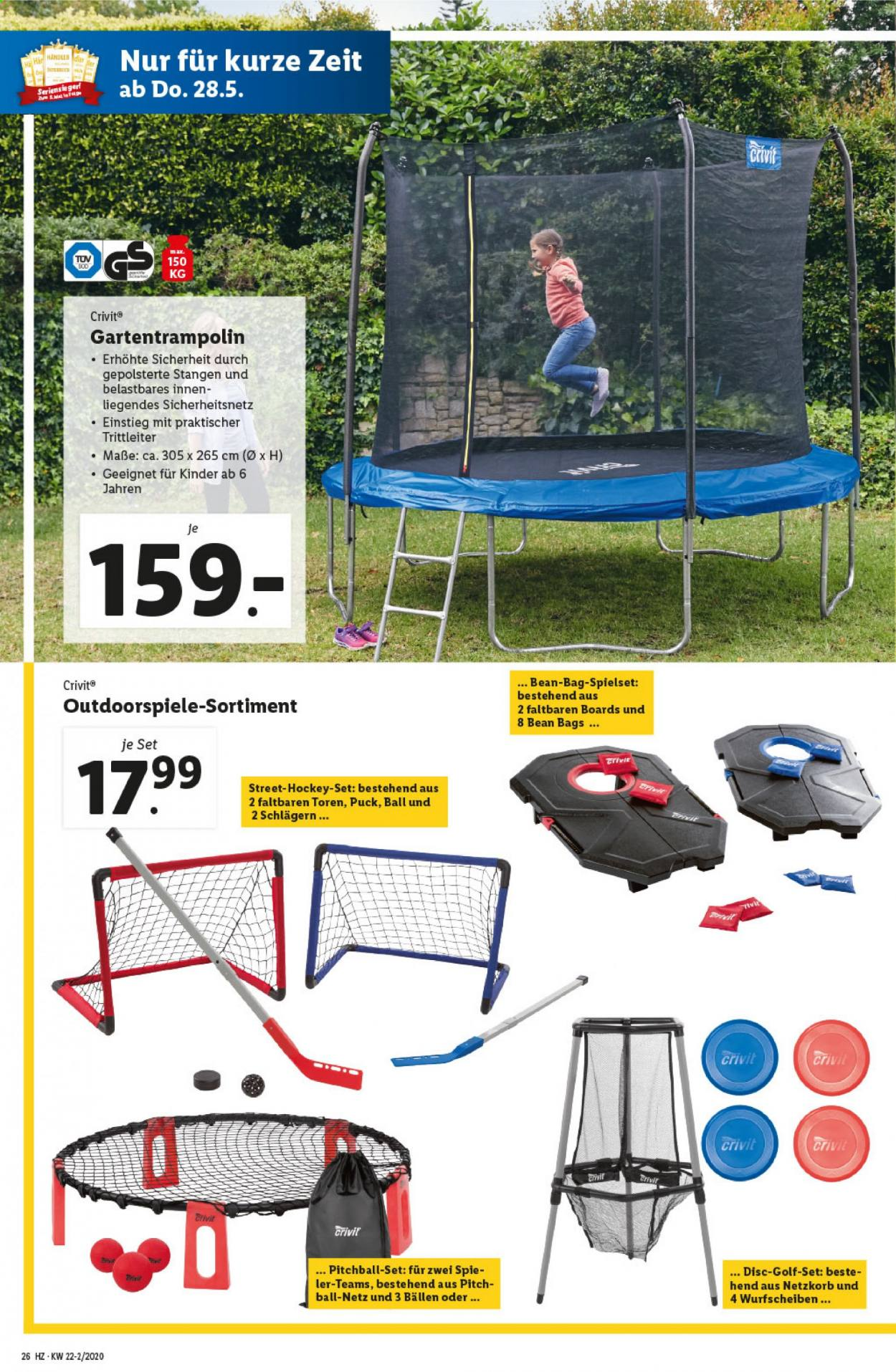 Angebote Lidl - 28.5.2020 - 3.6.2020. Seite 26.