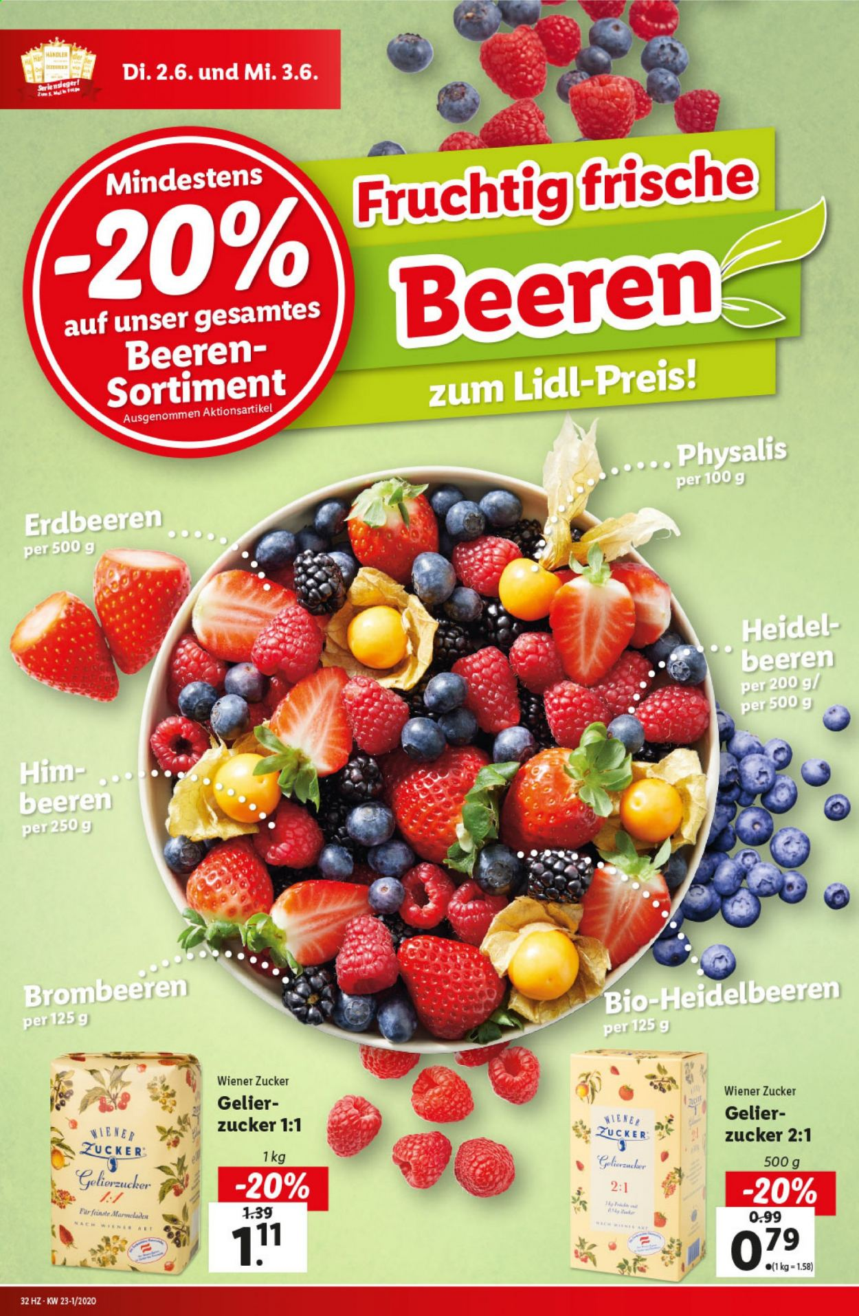 Angebote Lidl - 28.5.2020 - 3.6.2020. Seite 32.