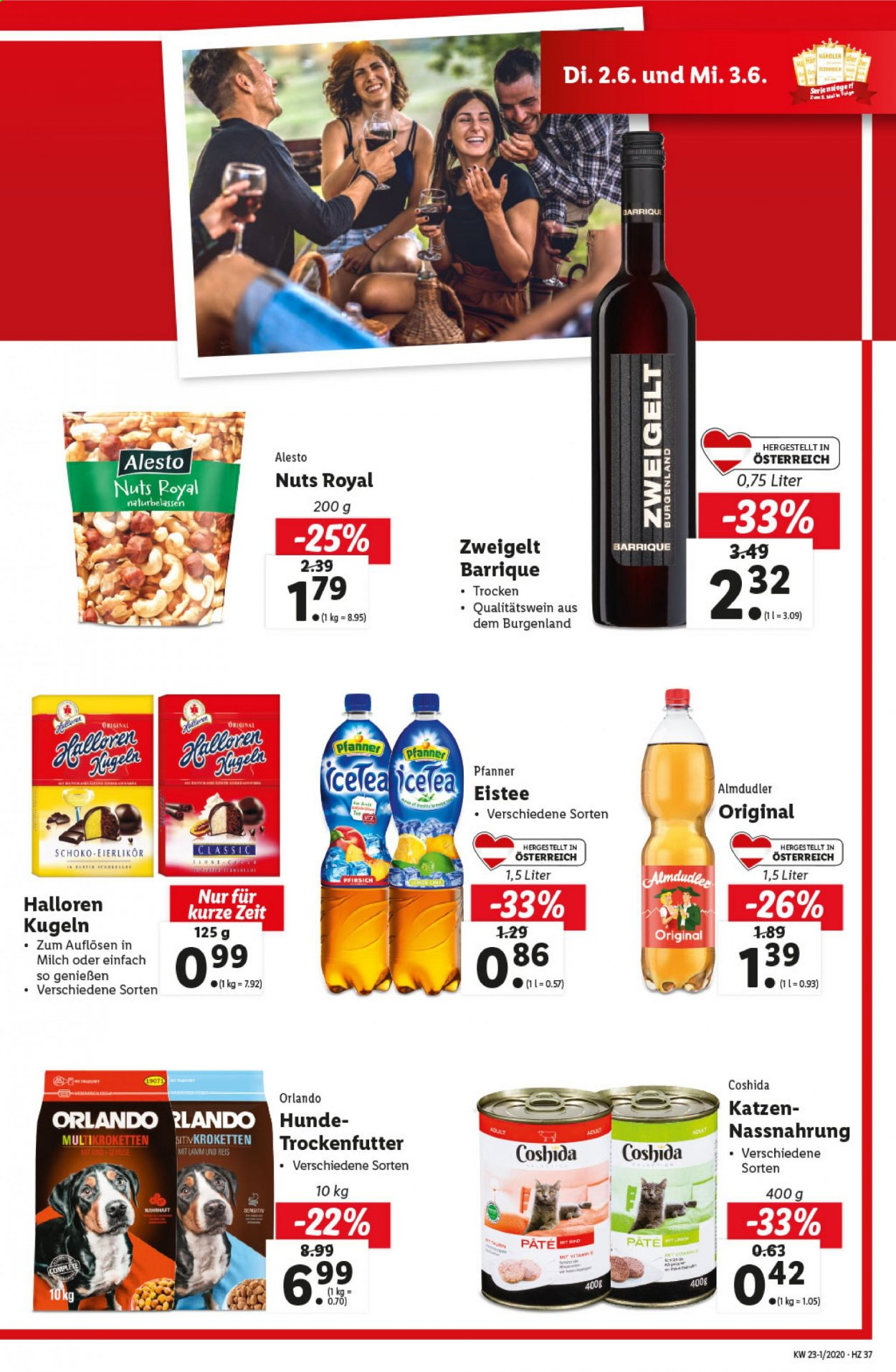 Angebote Lidl - 28.5.2020 - 3.6.2020. Seite 37.
