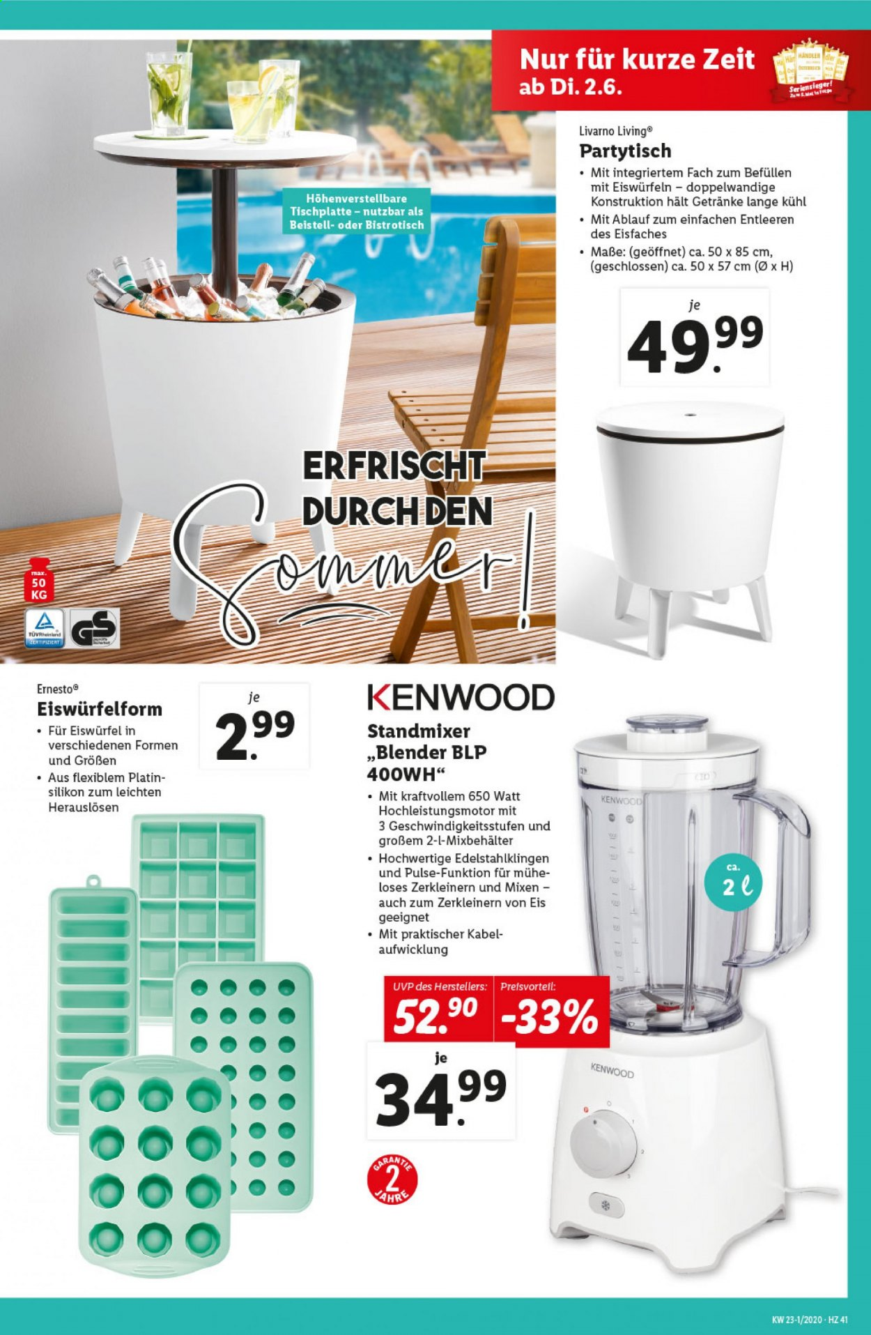 Angebote Lidl - 28.5.2020 - 3.6.2020. Seite 41.