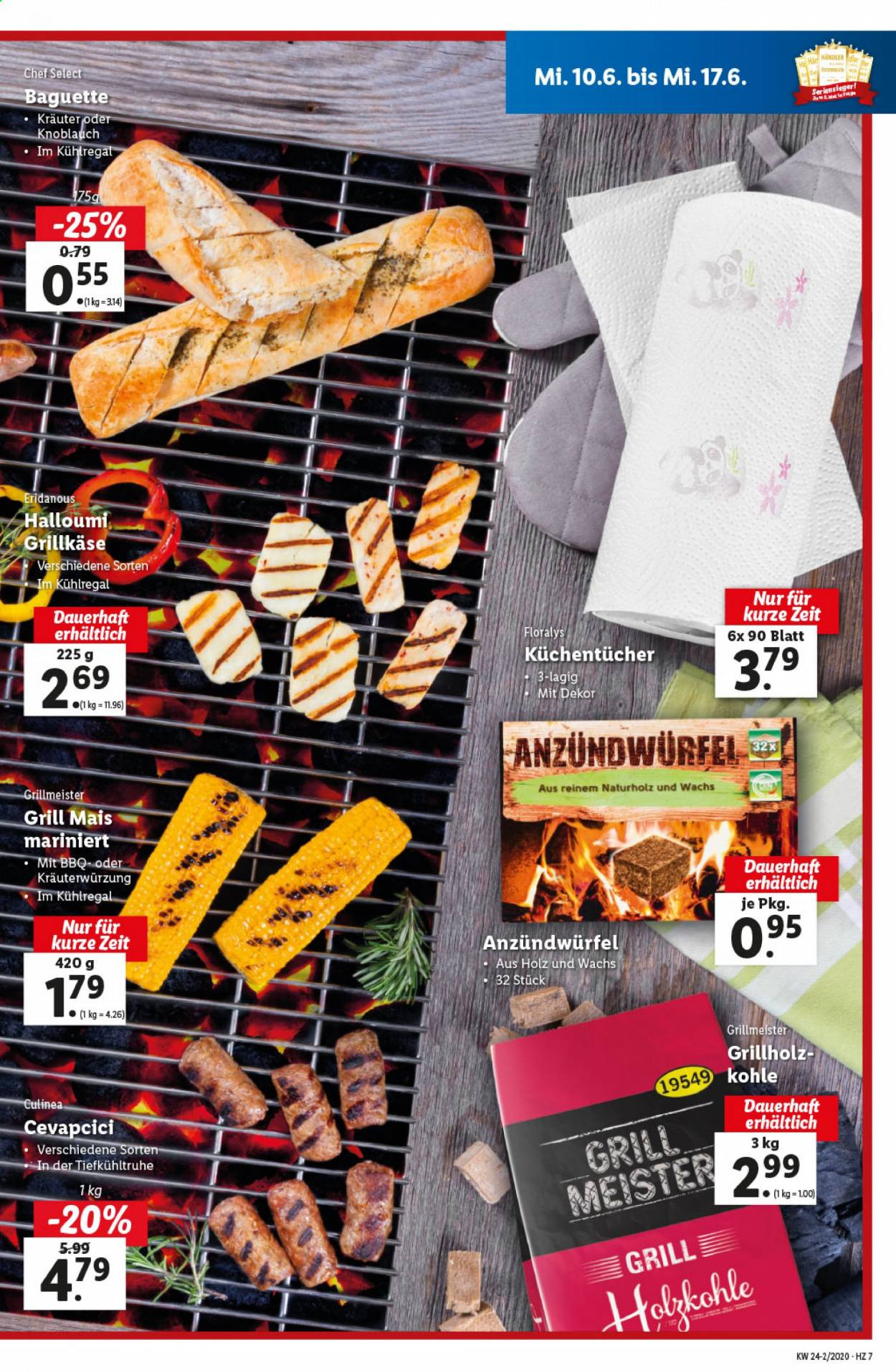 Angebote Lidl - 10.6.2020 - 17.6.2020. Seite 7.