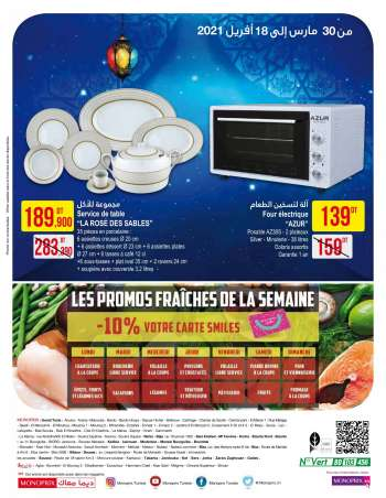Catalogue Monoprix - 30/03/2021 - 18/04/2021.