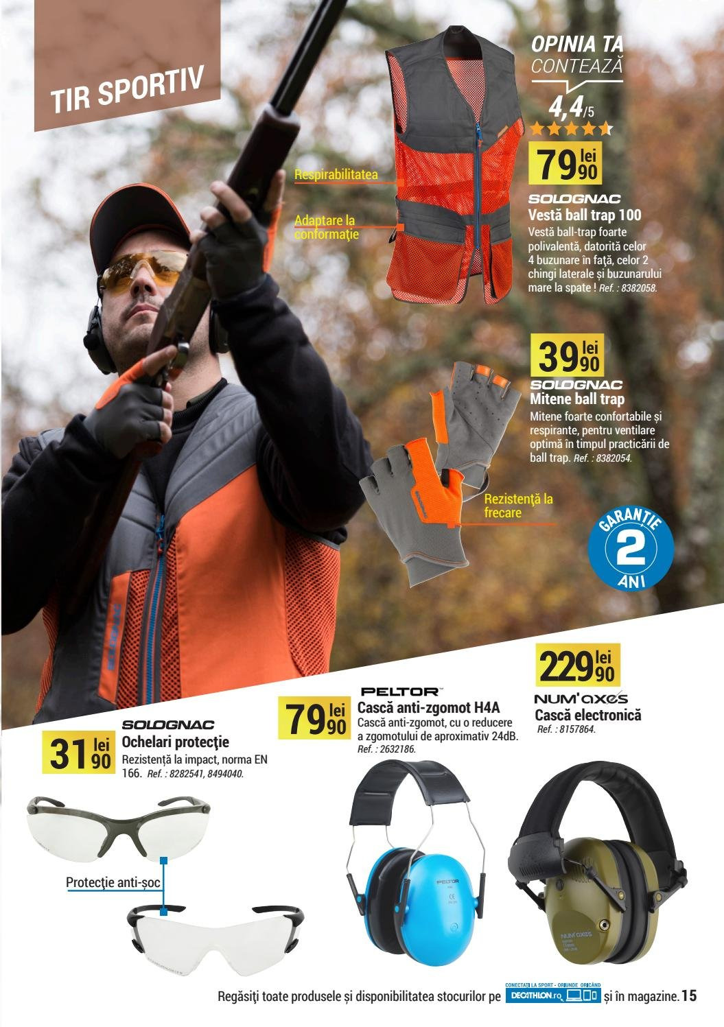 Cataloage Decathlon - 01.09.2018 - 31.12.2018. Pagina 15.