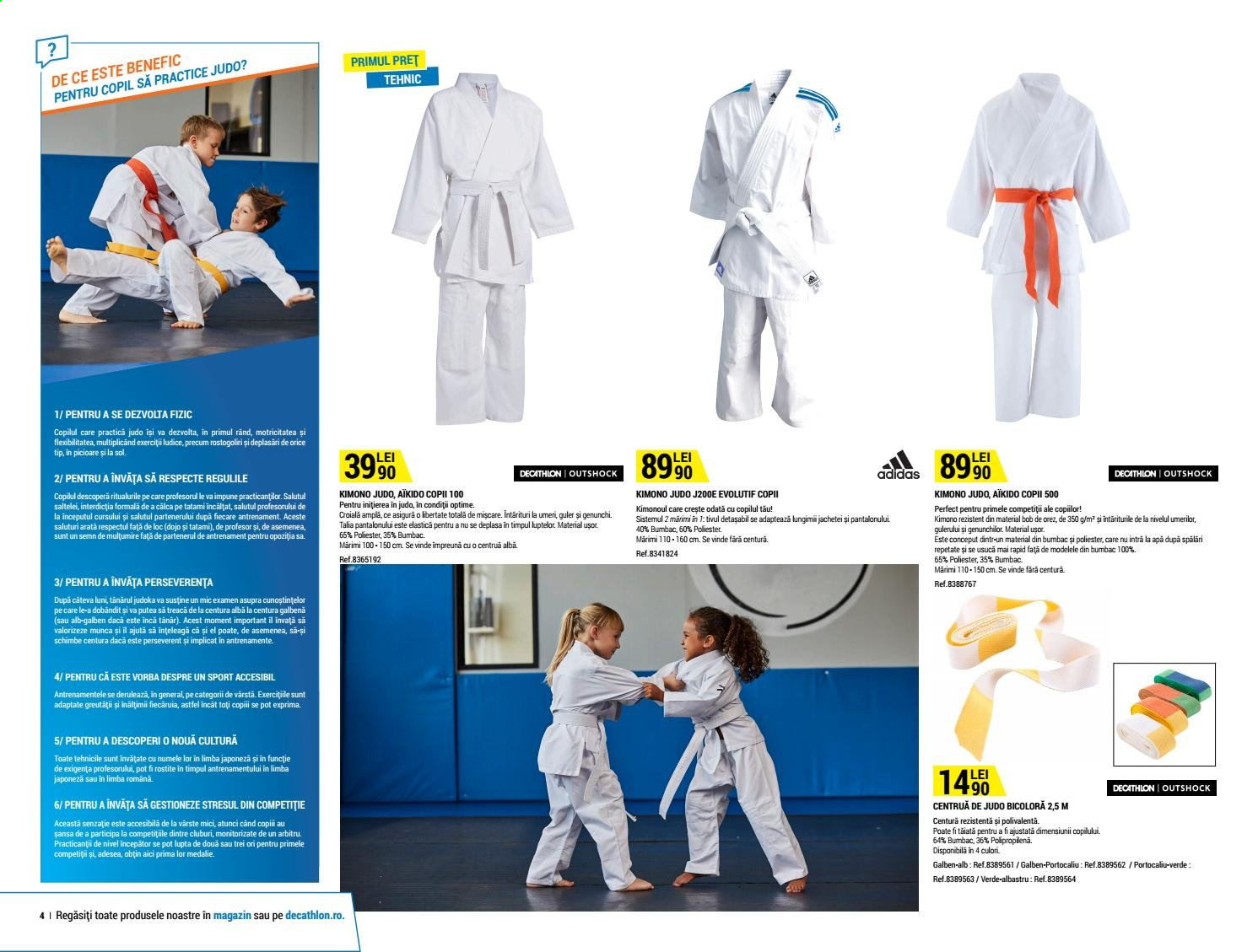 Cataloage Decathlon. Pagina 4.