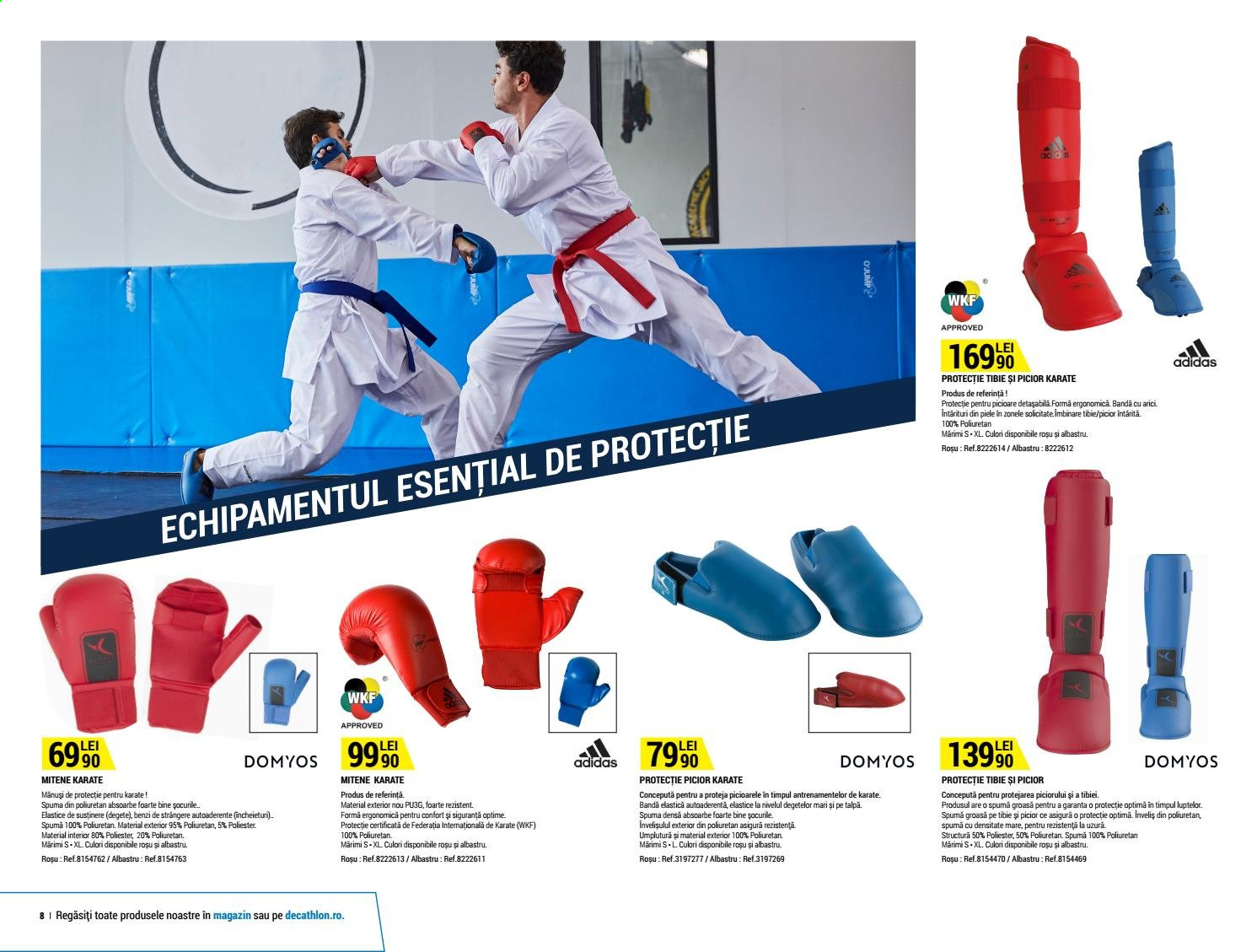 Cataloage Decathlon. Pagina 8.
