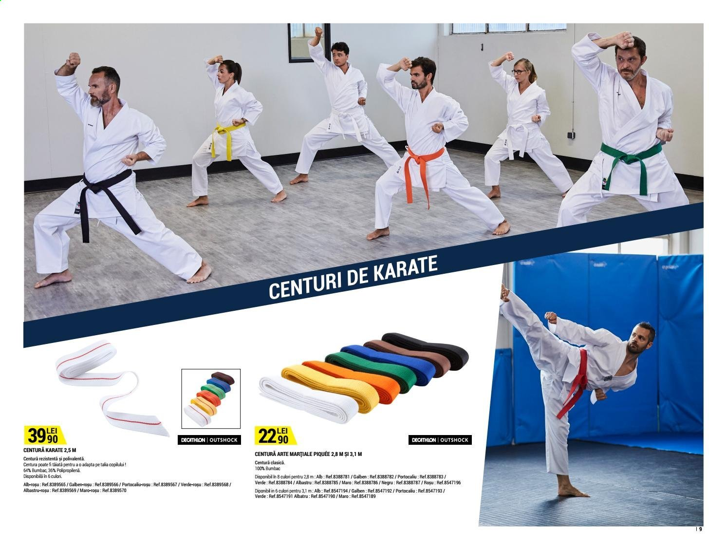 Cataloage Decathlon. Pagina 9.