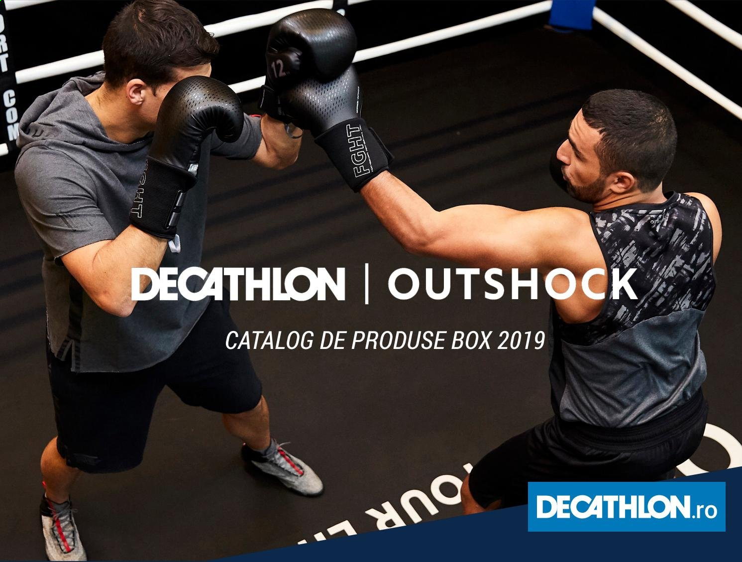 Cataloage Decathlon. Pagina 1.