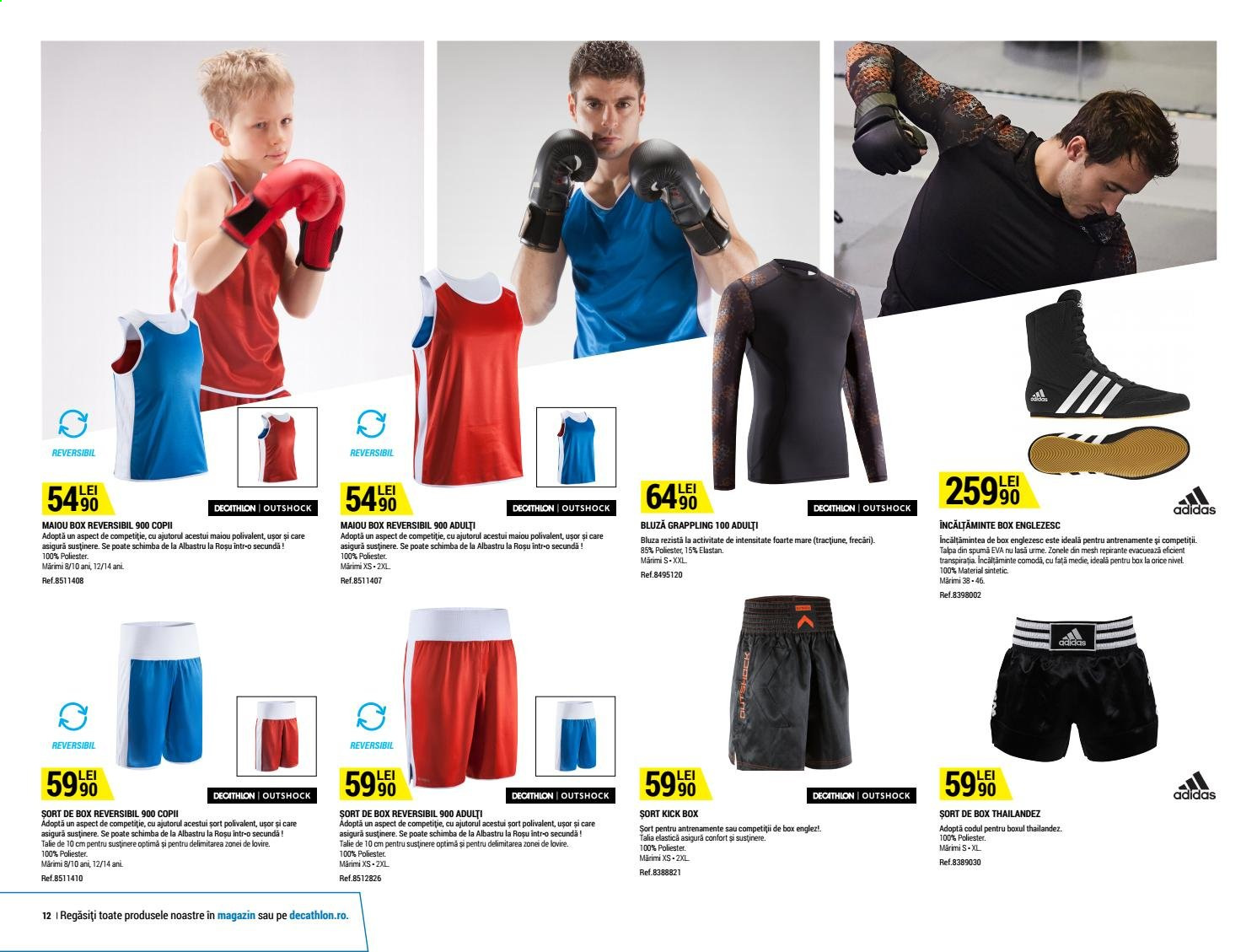 Cataloage Decathlon. Pagina 12.