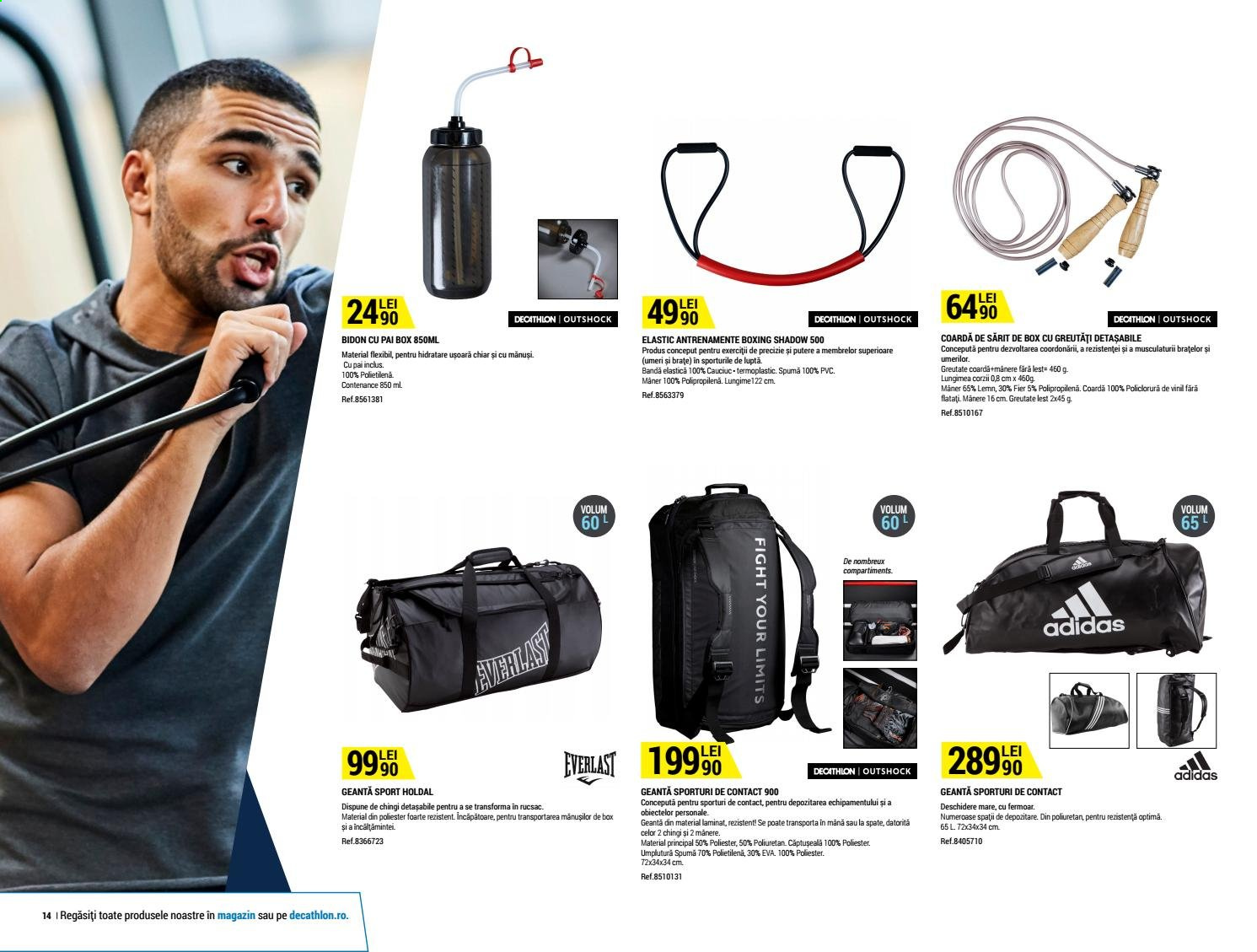 Cataloage Decathlon. Pagina 14.