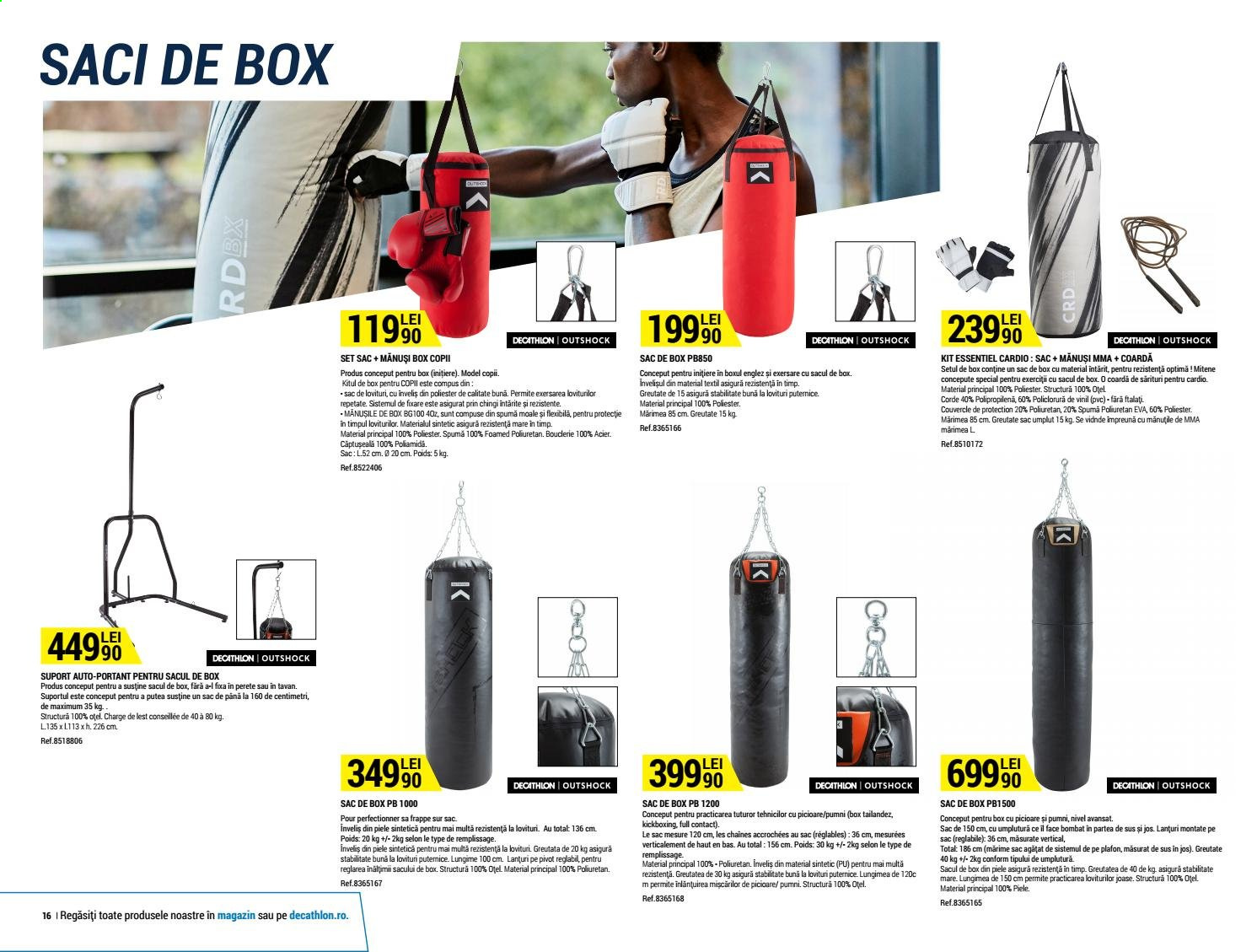 Cataloage Decathlon. Pagina 16.