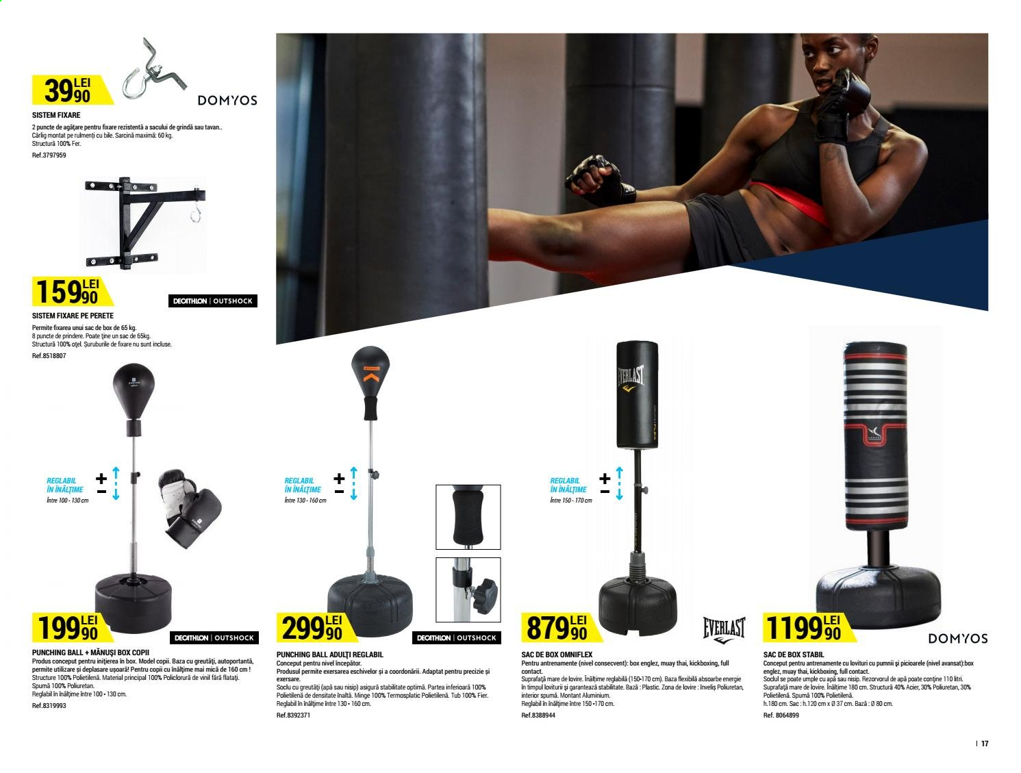 Cataloage Decathlon. Pagina 17.