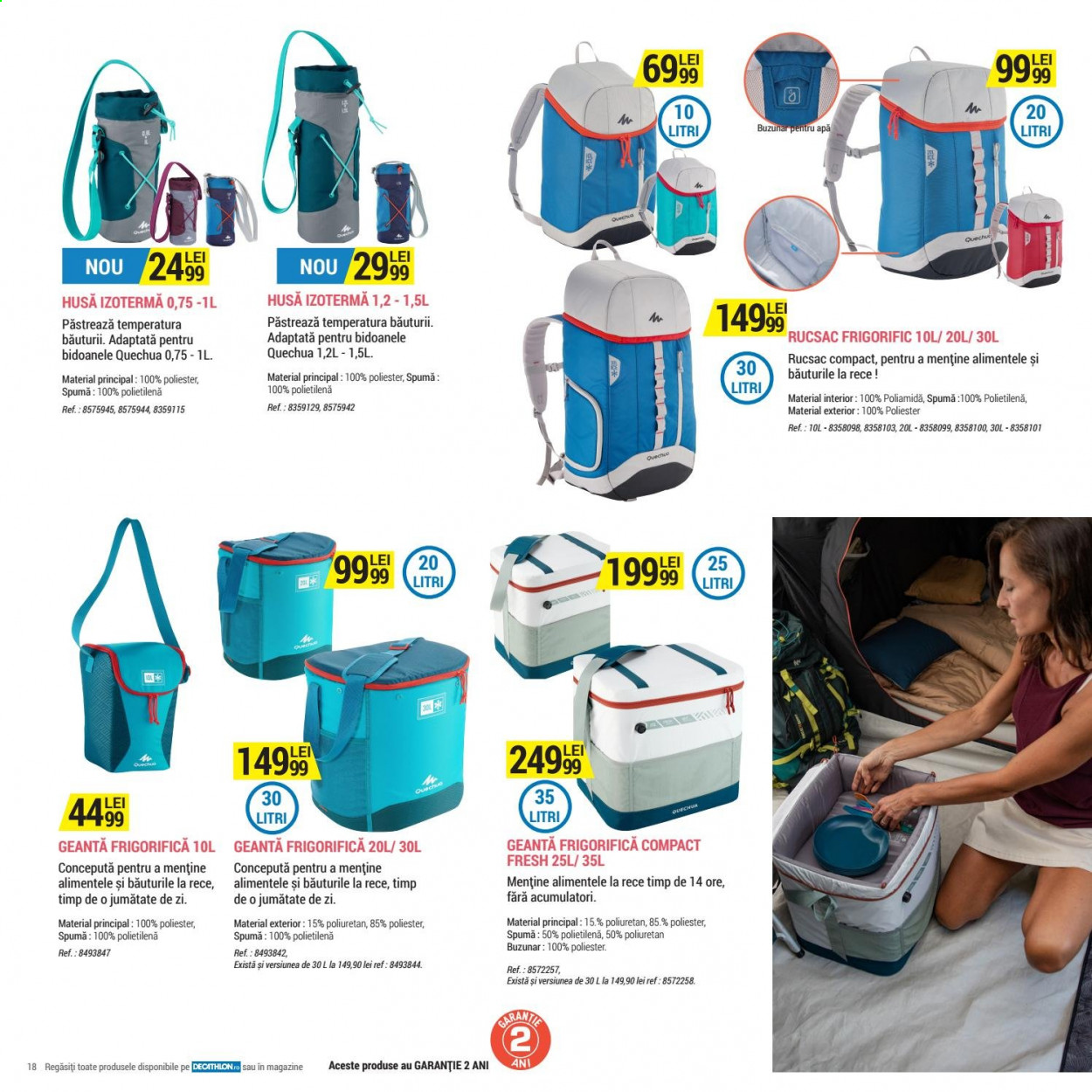 Cataloage Decathlon. Pagina 18.