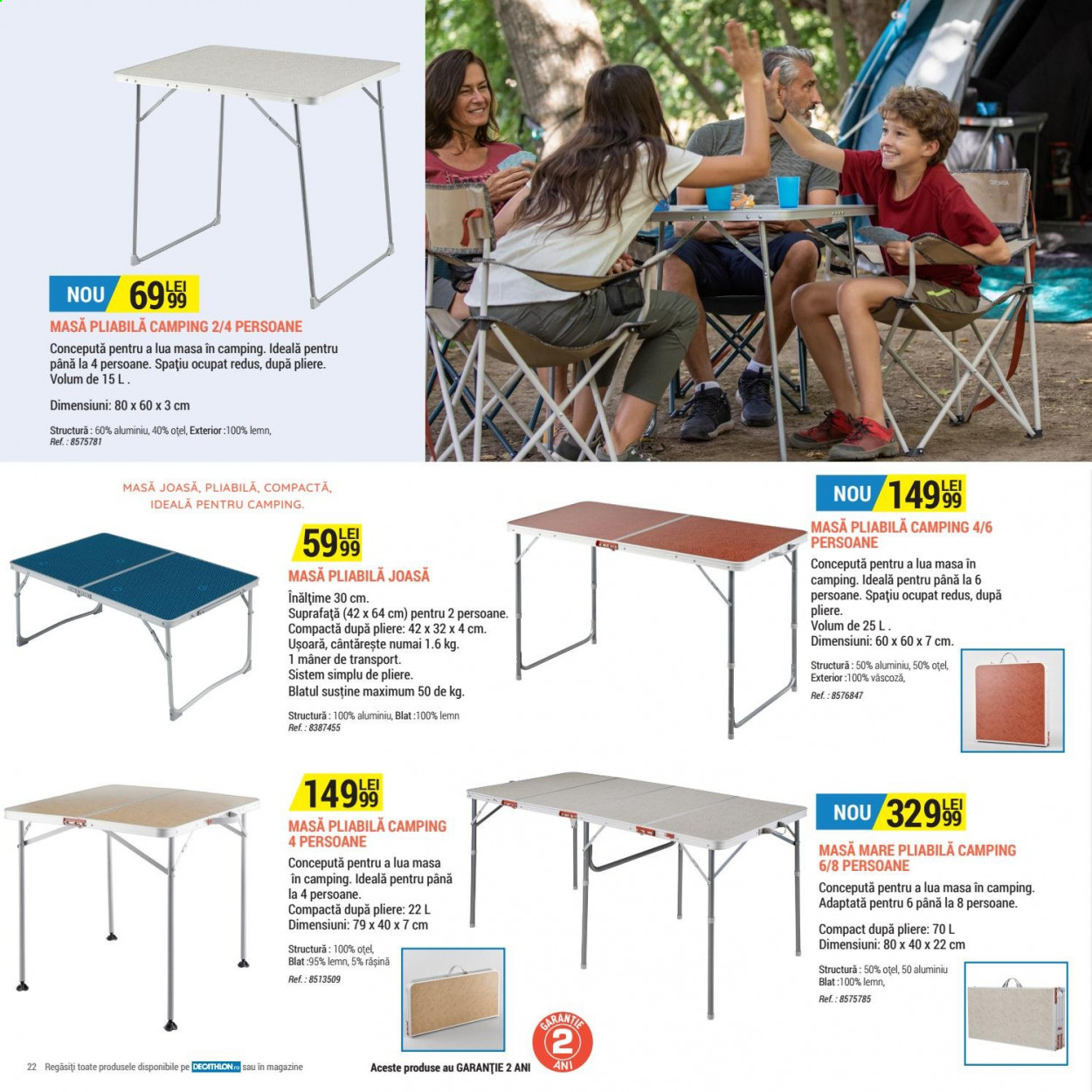 Cataloage Decathlon. Pagina 22.