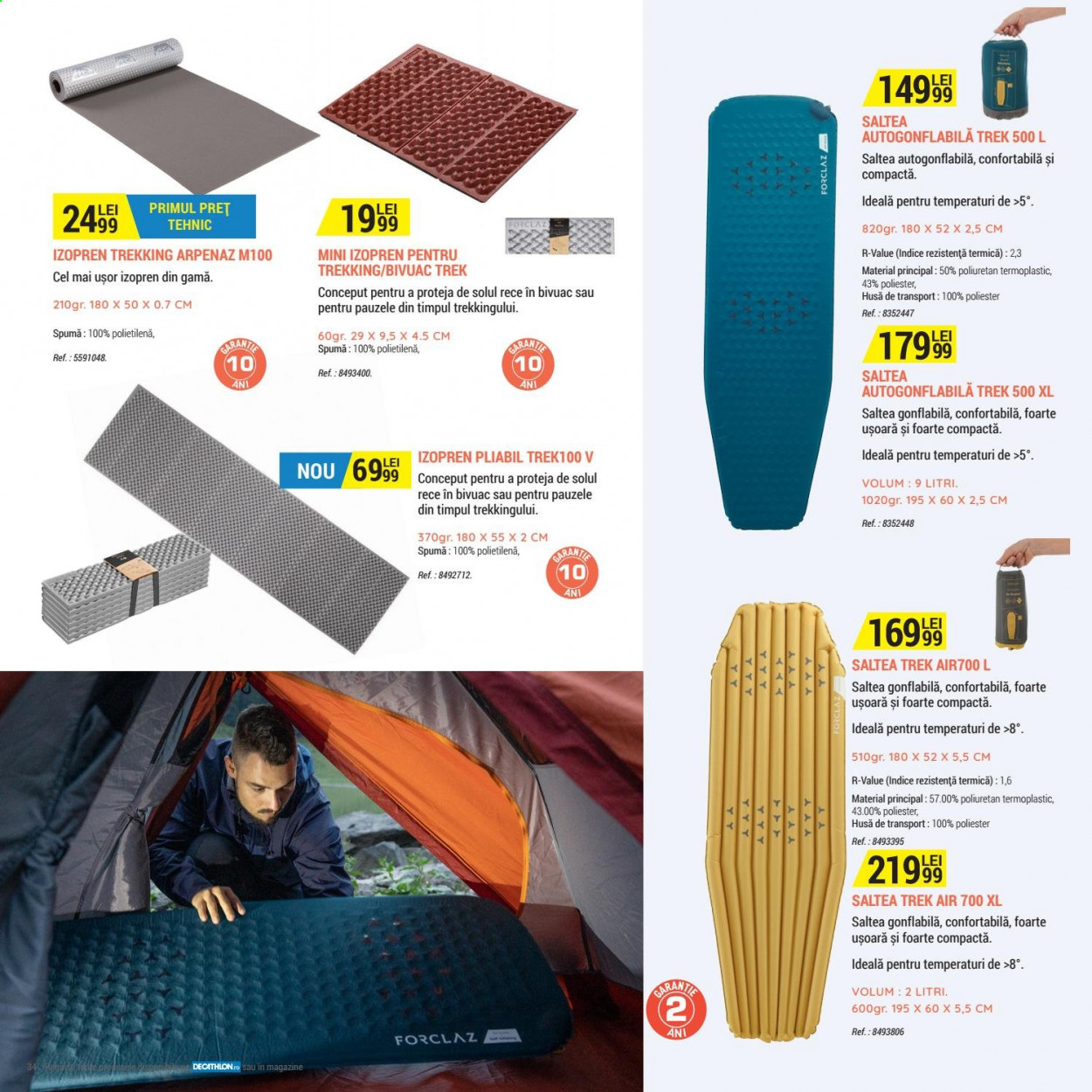 Cataloage Decathlon. Pagina 34.