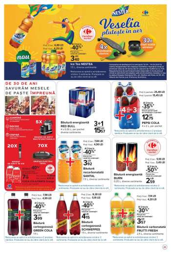 Cataloage Carrefour - 15.04.2021 - 25.04.2021.
