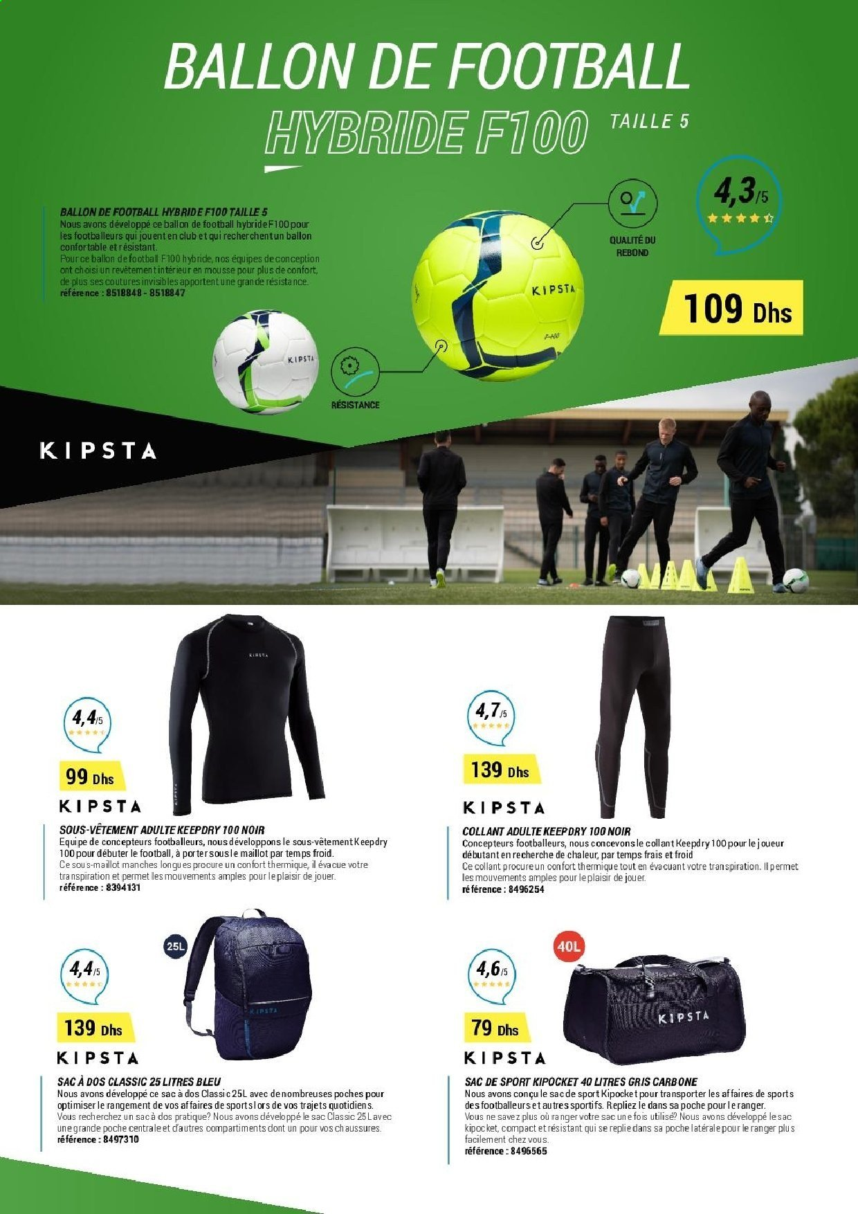 Catalogue Decathlon - 15/10/2019 - 25/01/2020. Page 8.