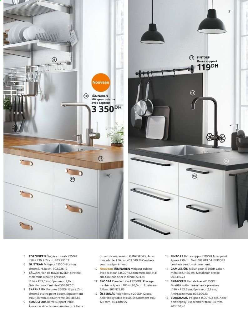 Prix Plan De Travail Inox Ikea catalogue, promotion, brochure ikea | top catalogues