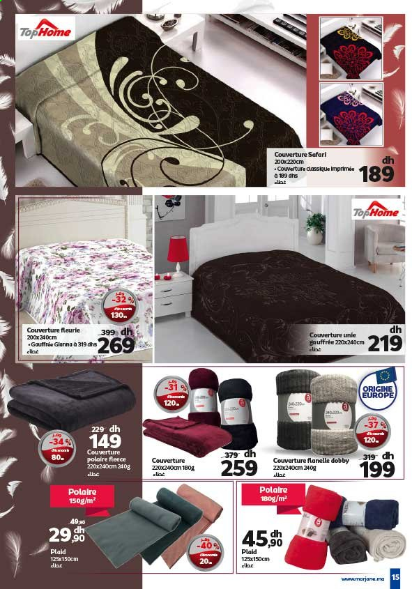 Catalogue Marjane - 26/12/2019 - 12/01/2020. Page 15.