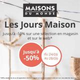 Catalogue Maisons du Monde - 24/09/2020 - 28/09/2020.