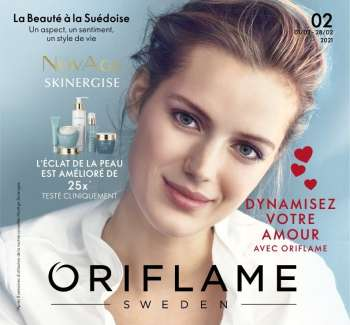 Catalogue Oriflame - 01/02/2021 - 28/02/2021.