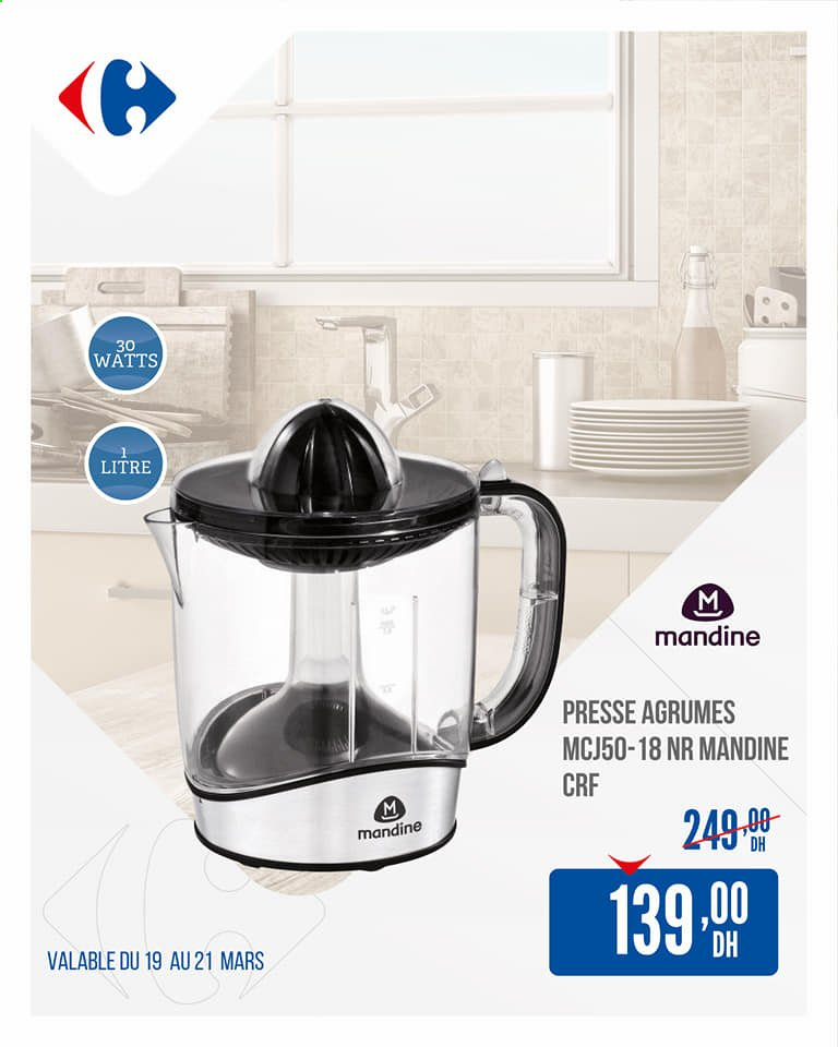 Catalogue Carrefour - 19/03/2021 - 21/03/2021. Page 1.