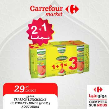 Catalogue Carrefour Market - 19/03/2021 - 31/03/2021.