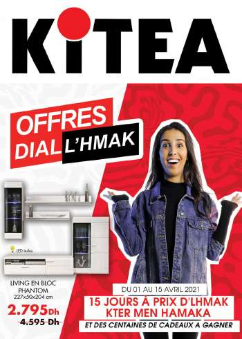 Catalogue KITEA - 01/04/2021 - 15/04/2021.