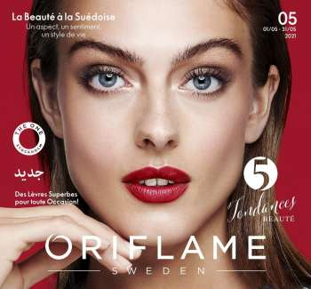 Catalogue Oriflame - 01/05/2021 - 31/05/2021.