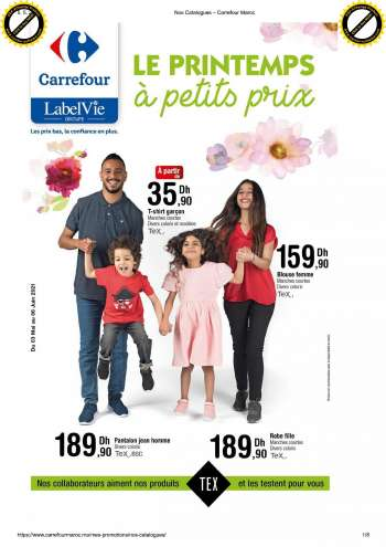 Catalogue Carrefour - 03/05/2021 - 06/06/2021.
